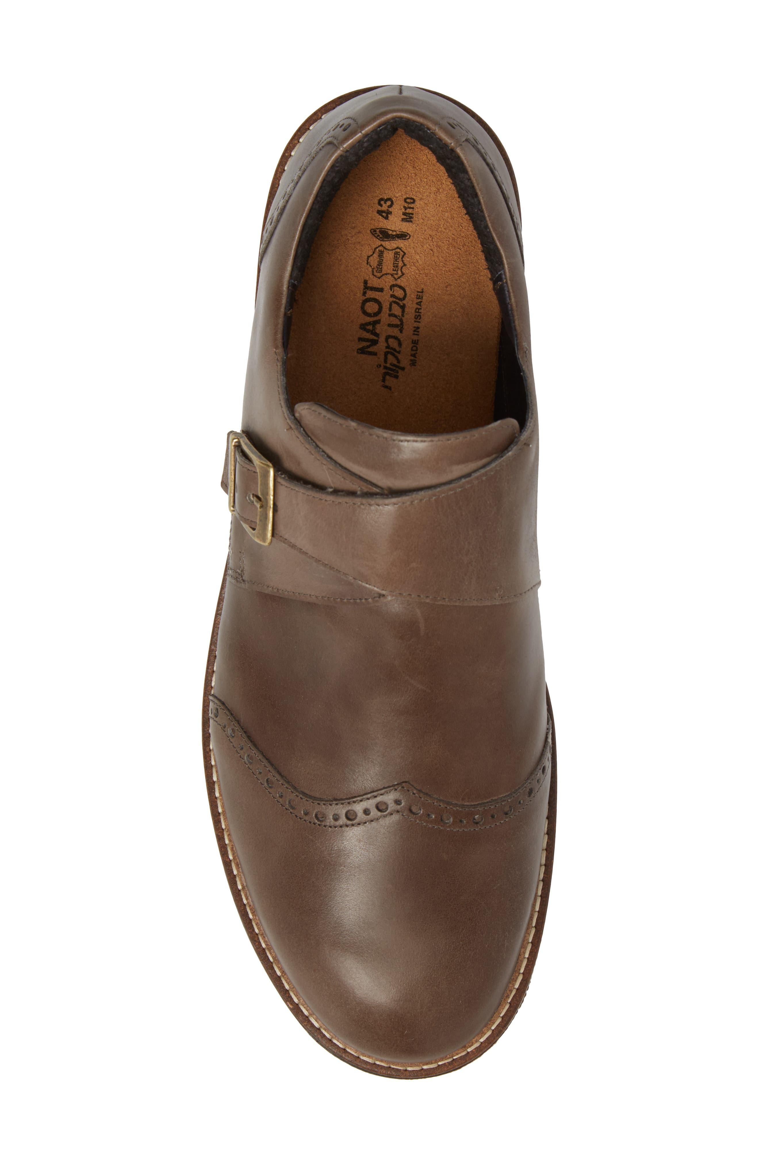 Evidence Monk Strap Shoe,                             Alternate thumbnail 5, color,                             001