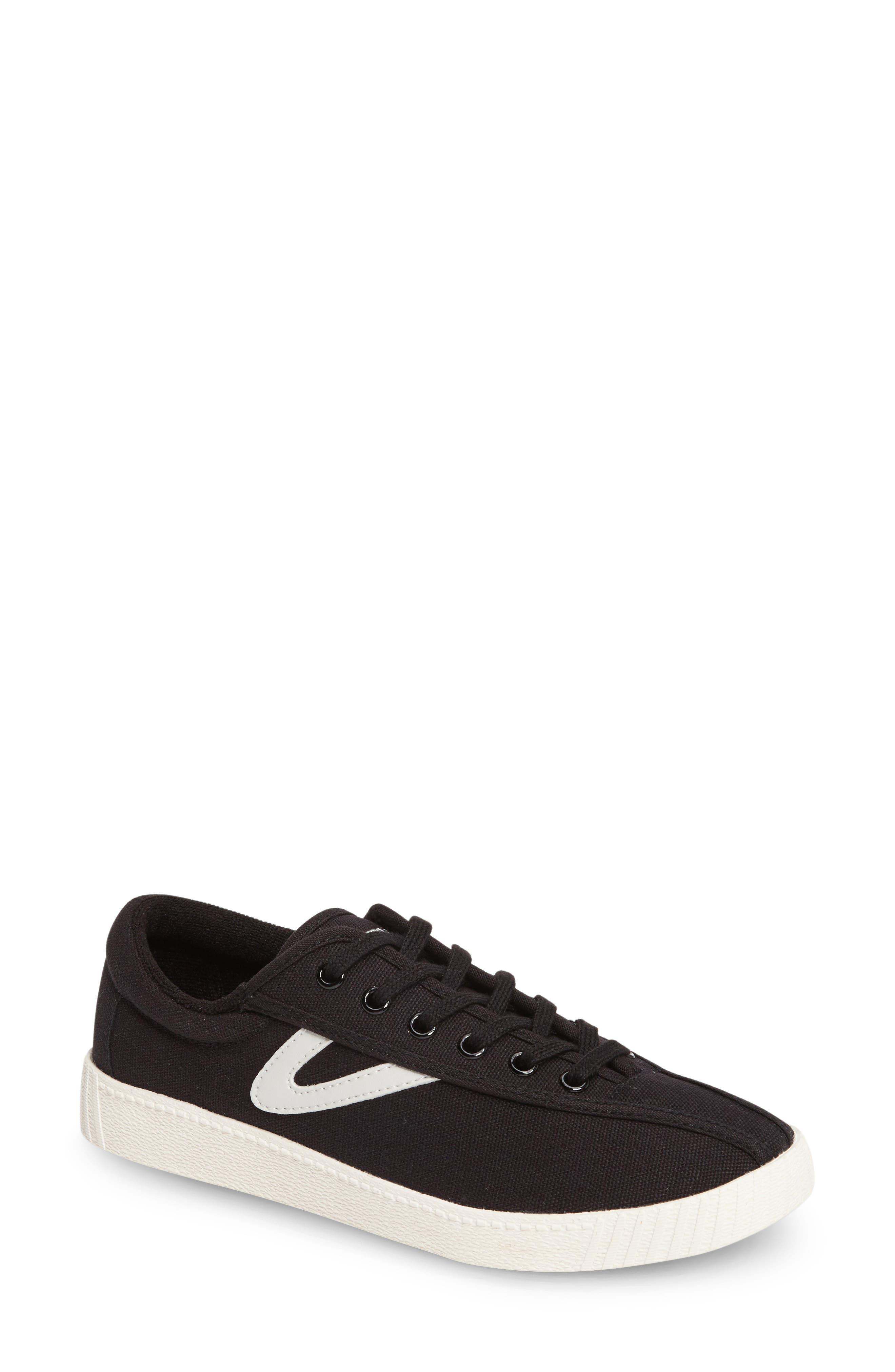 Nylite Plus Sneaker,                         Main,                         color, BLACK/ WHITE