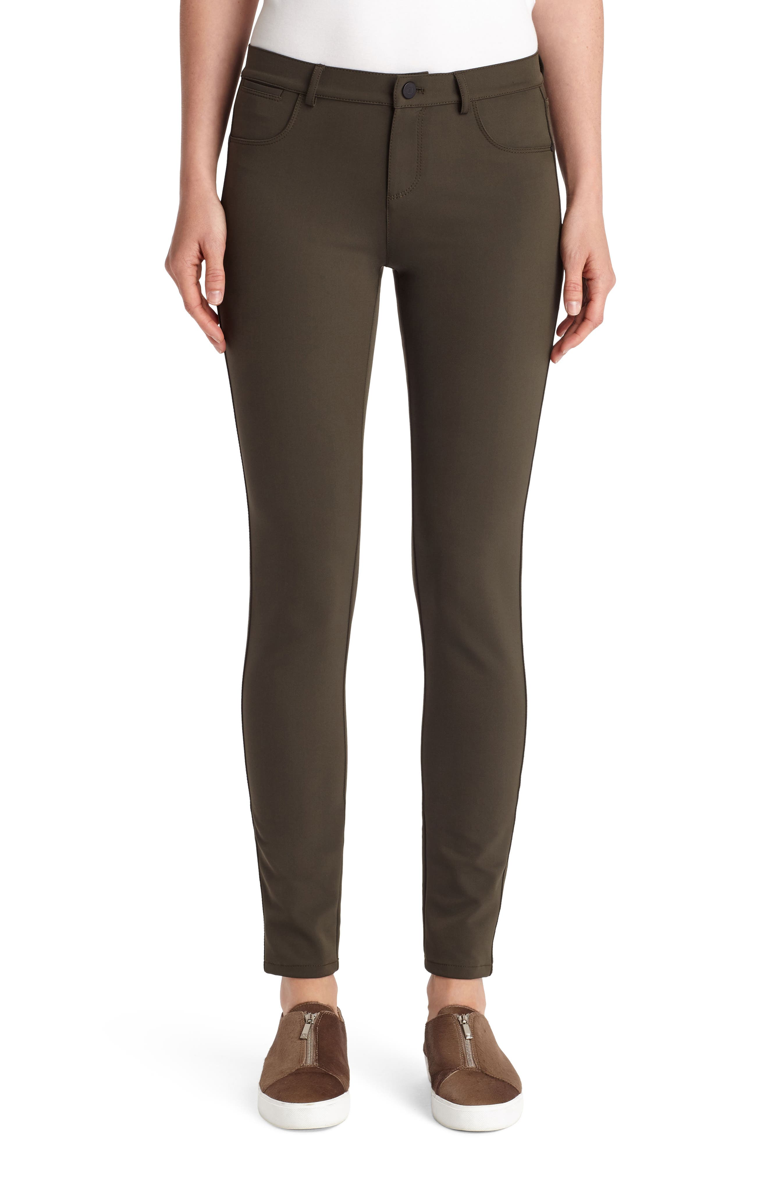 Mercer Acclaimed Stretch Skinny Pants in Olive