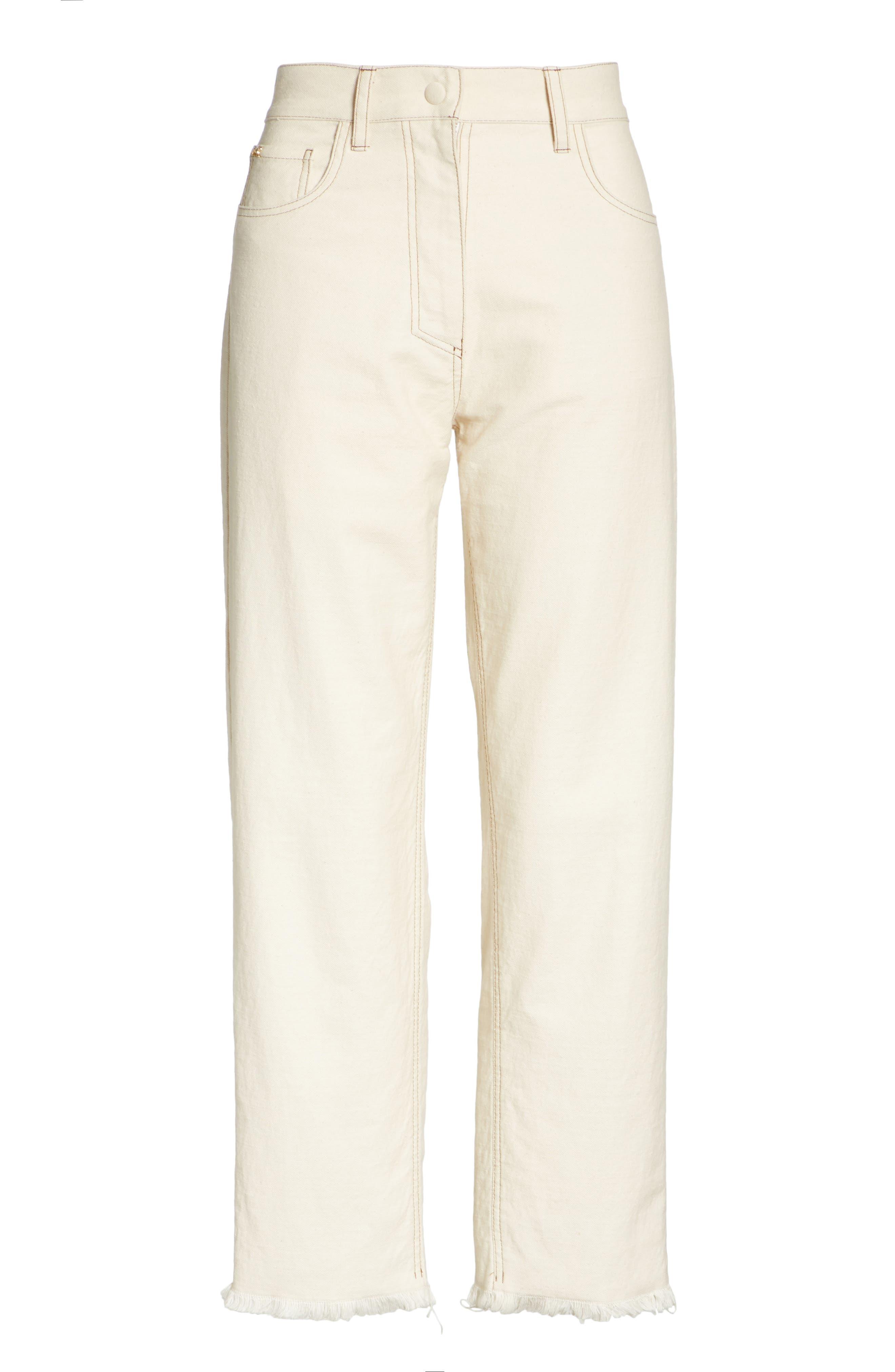 Rupa Ankle Straight Leg Jeans,                             Alternate thumbnail 6, color,                             900