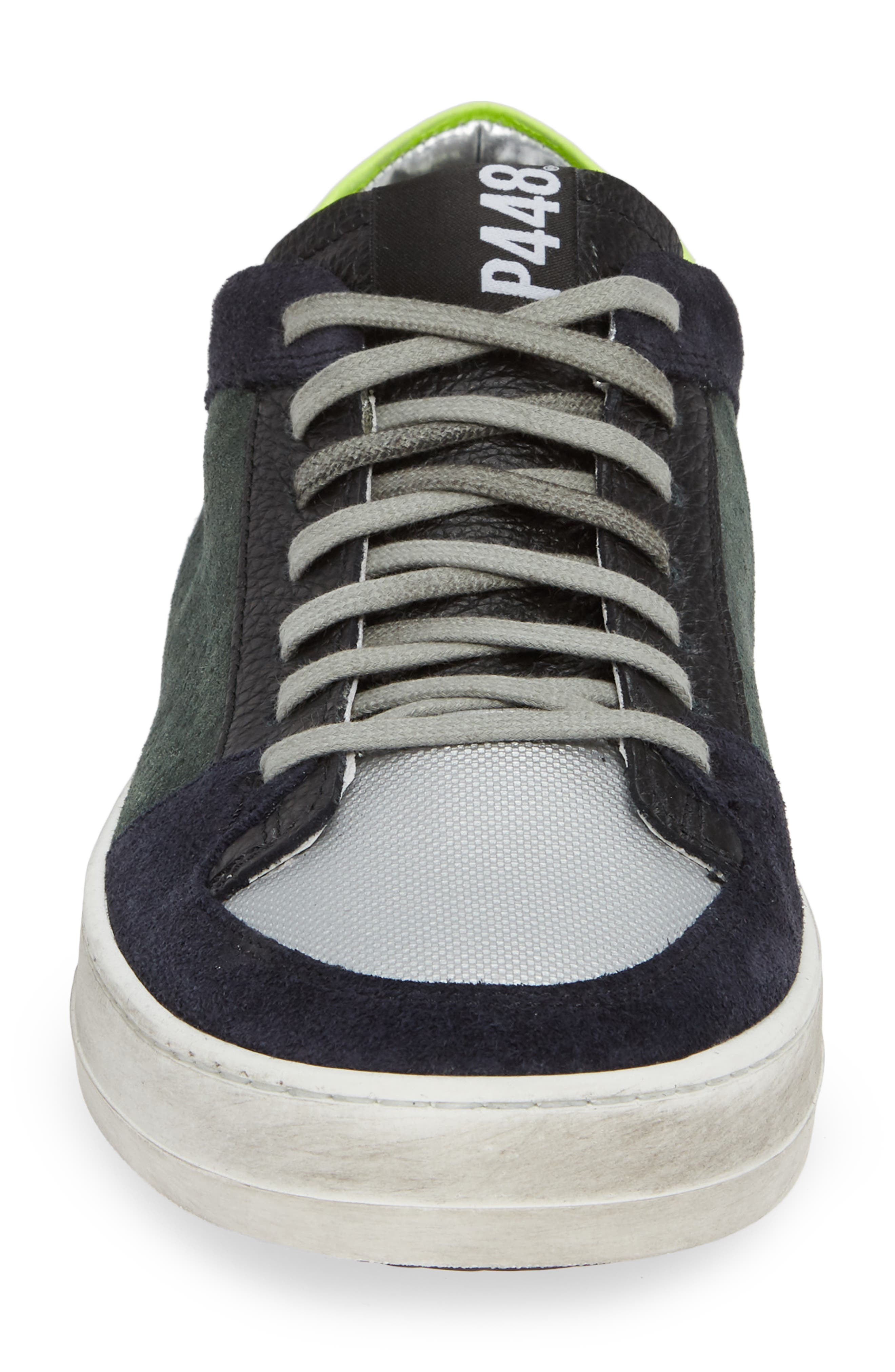 A8Queens Sneaker,                             Alternate thumbnail 4, color,                             WILLOW GREEN