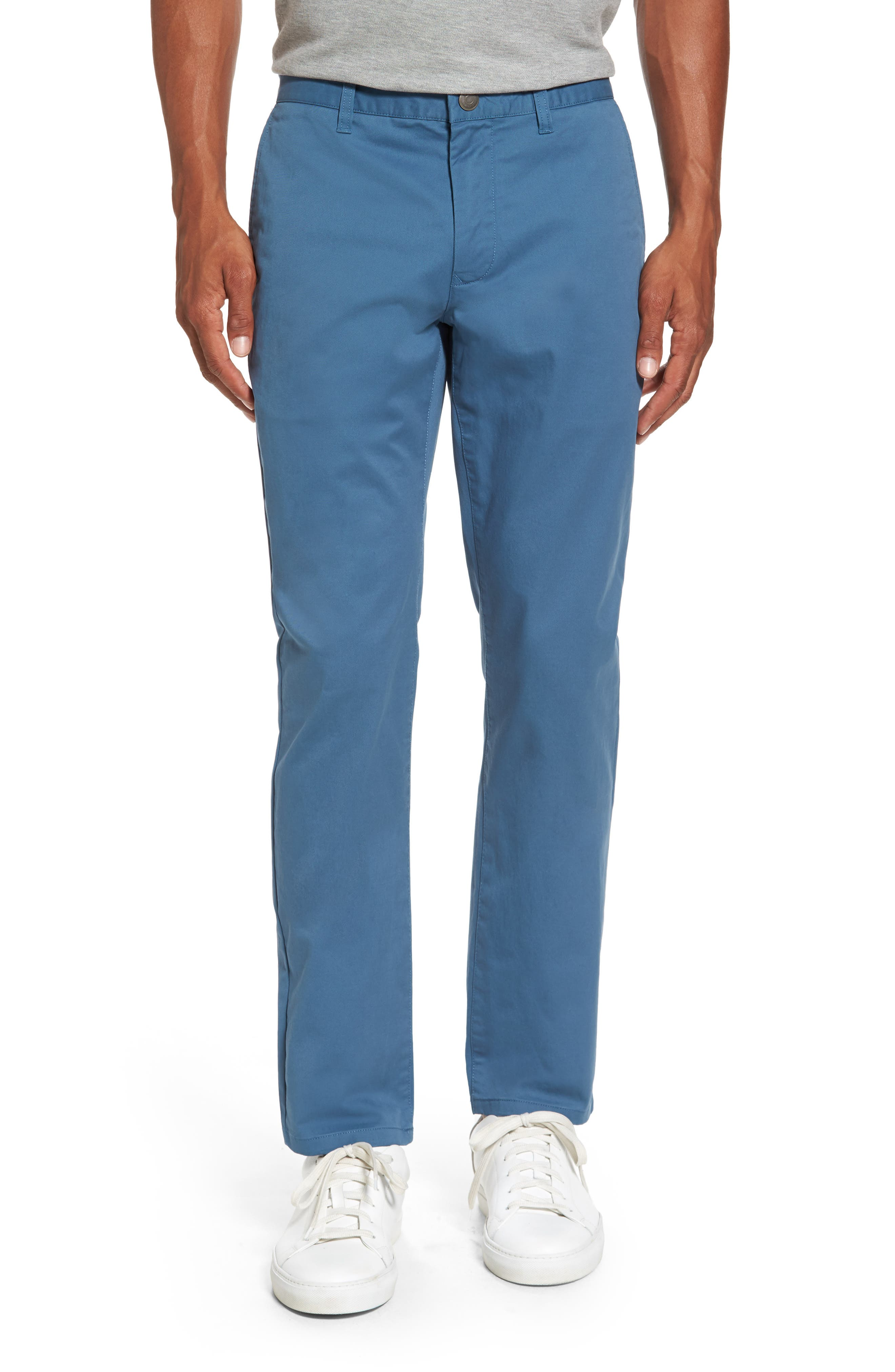 Tailored Fit Washed Stretch Cotton Chinos,                             Main thumbnail 13, color,