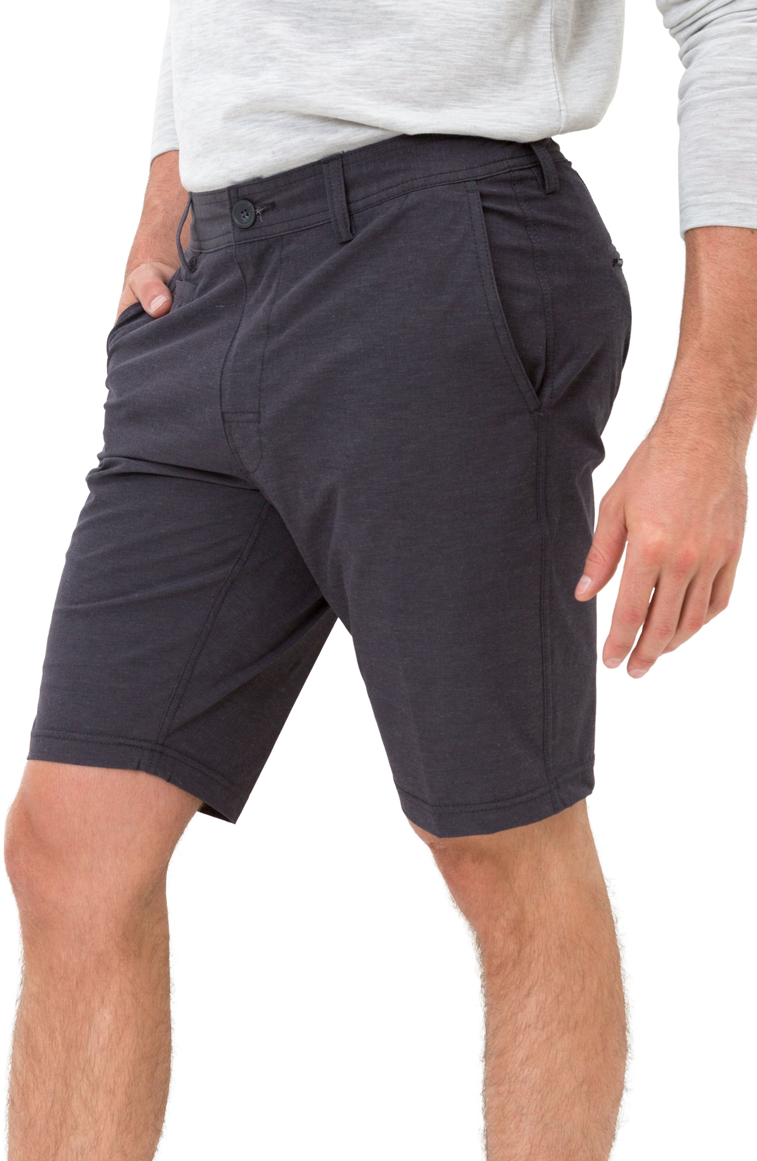 Velocity Hybrid Shorts,                             Alternate thumbnail 3, color,                             CHARCOAL