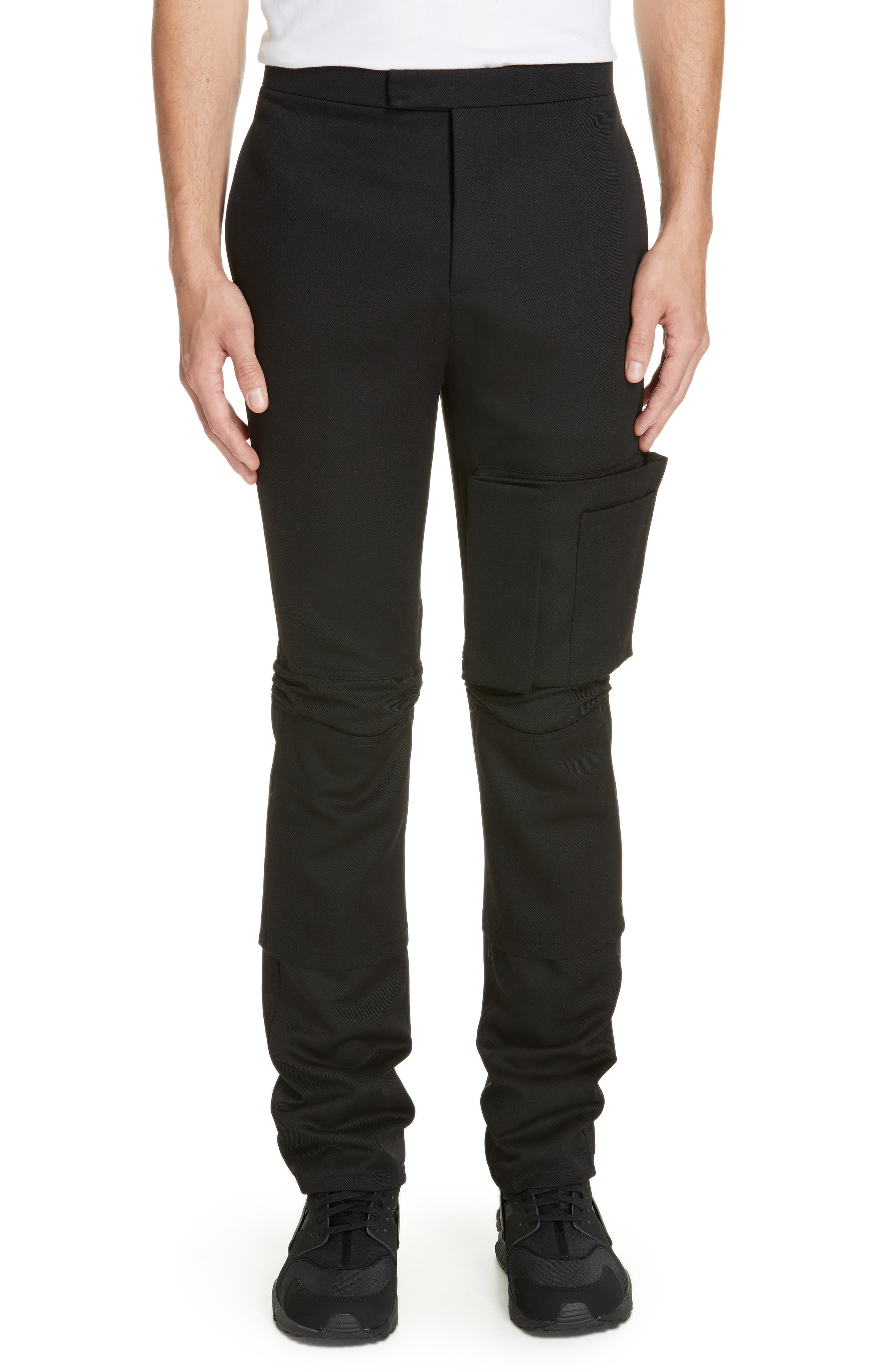 Raf Simons Slim Fit Cargo Space Pants