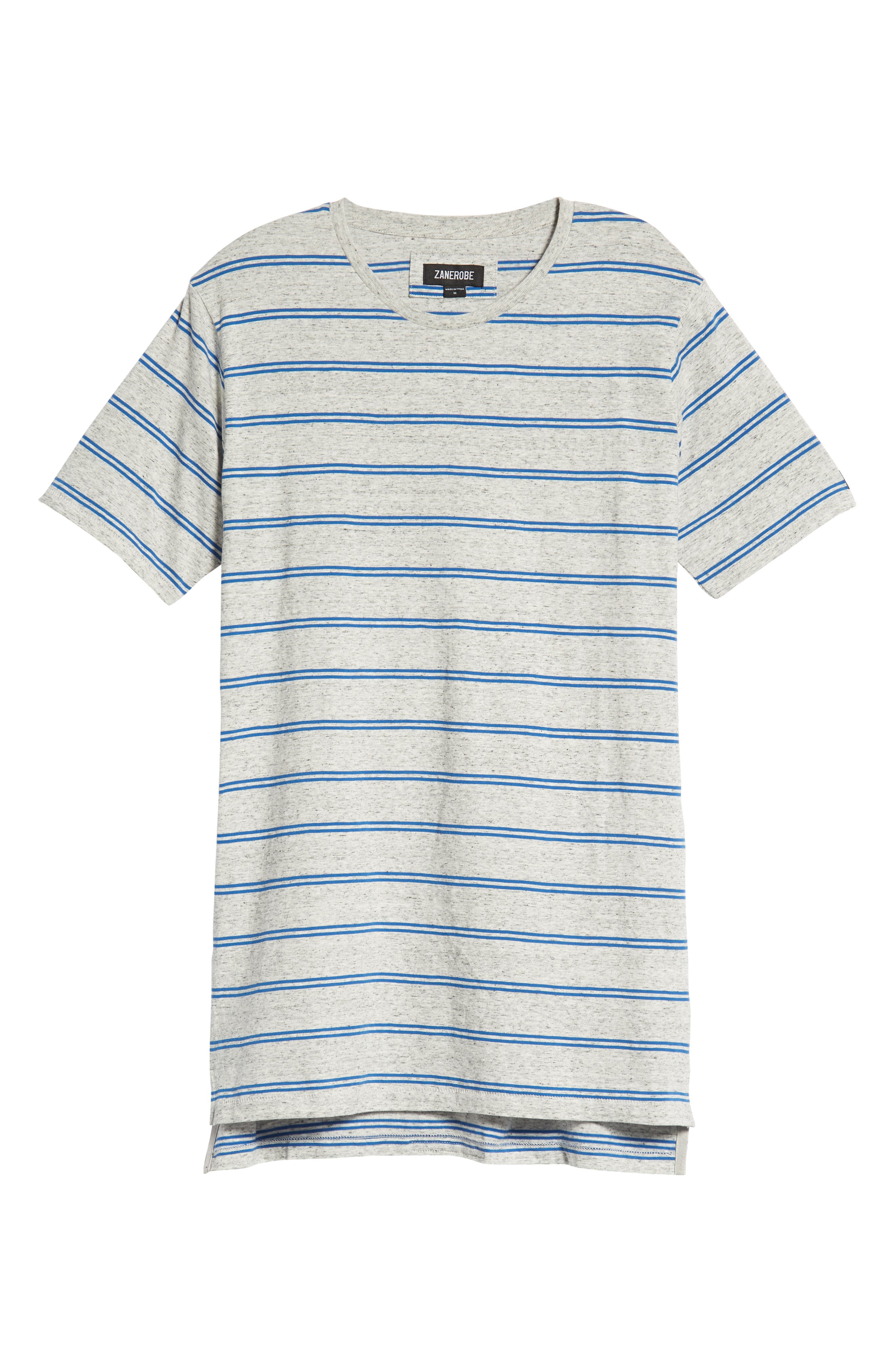 Flintlock T-Shirt,                             Alternate thumbnail 6, color,                             STORM MARLE/ COBALT