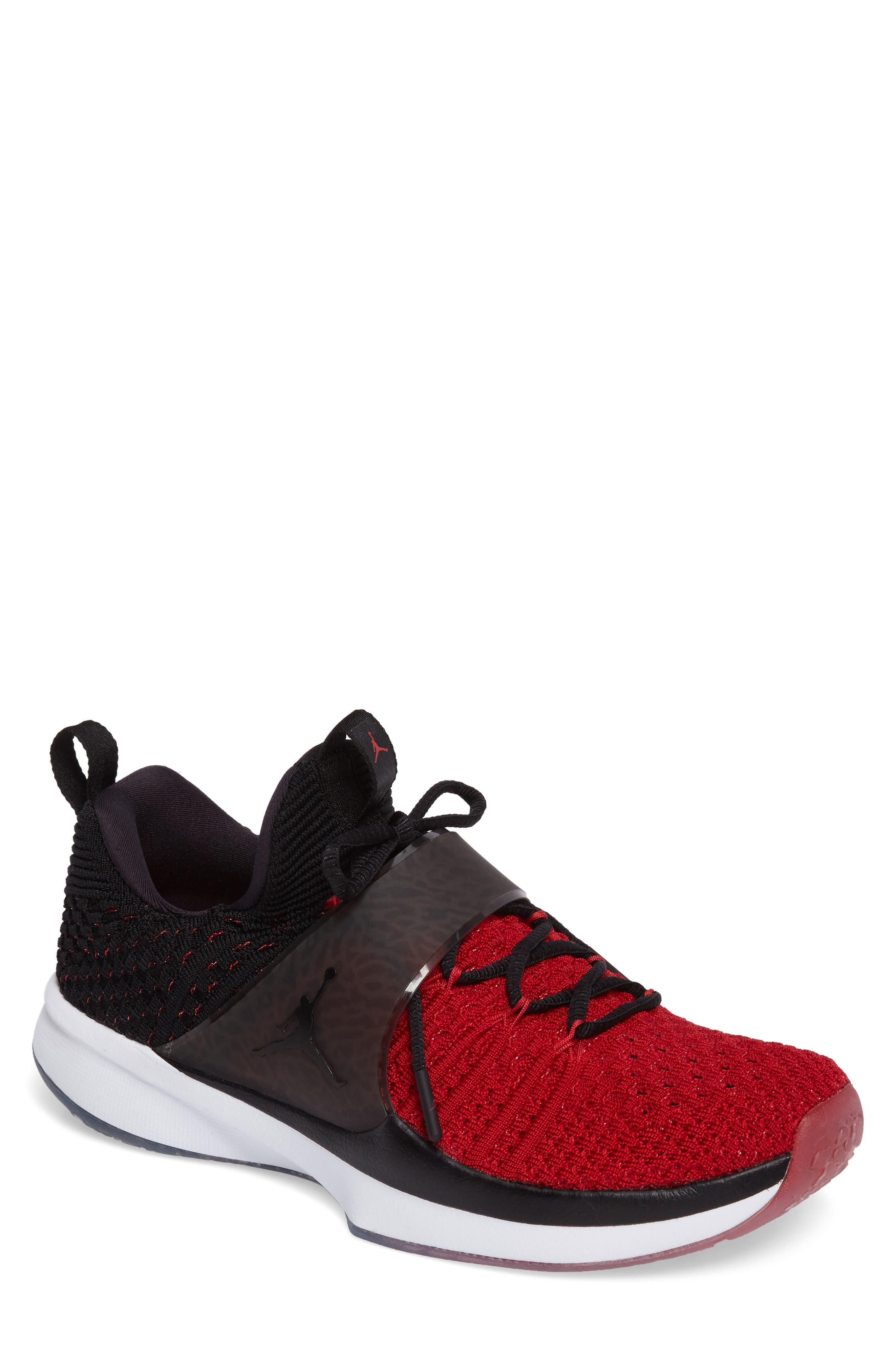 Jordan Flyknit Trainer 2 Low Sneaker,                             Main thumbnail 5, color,