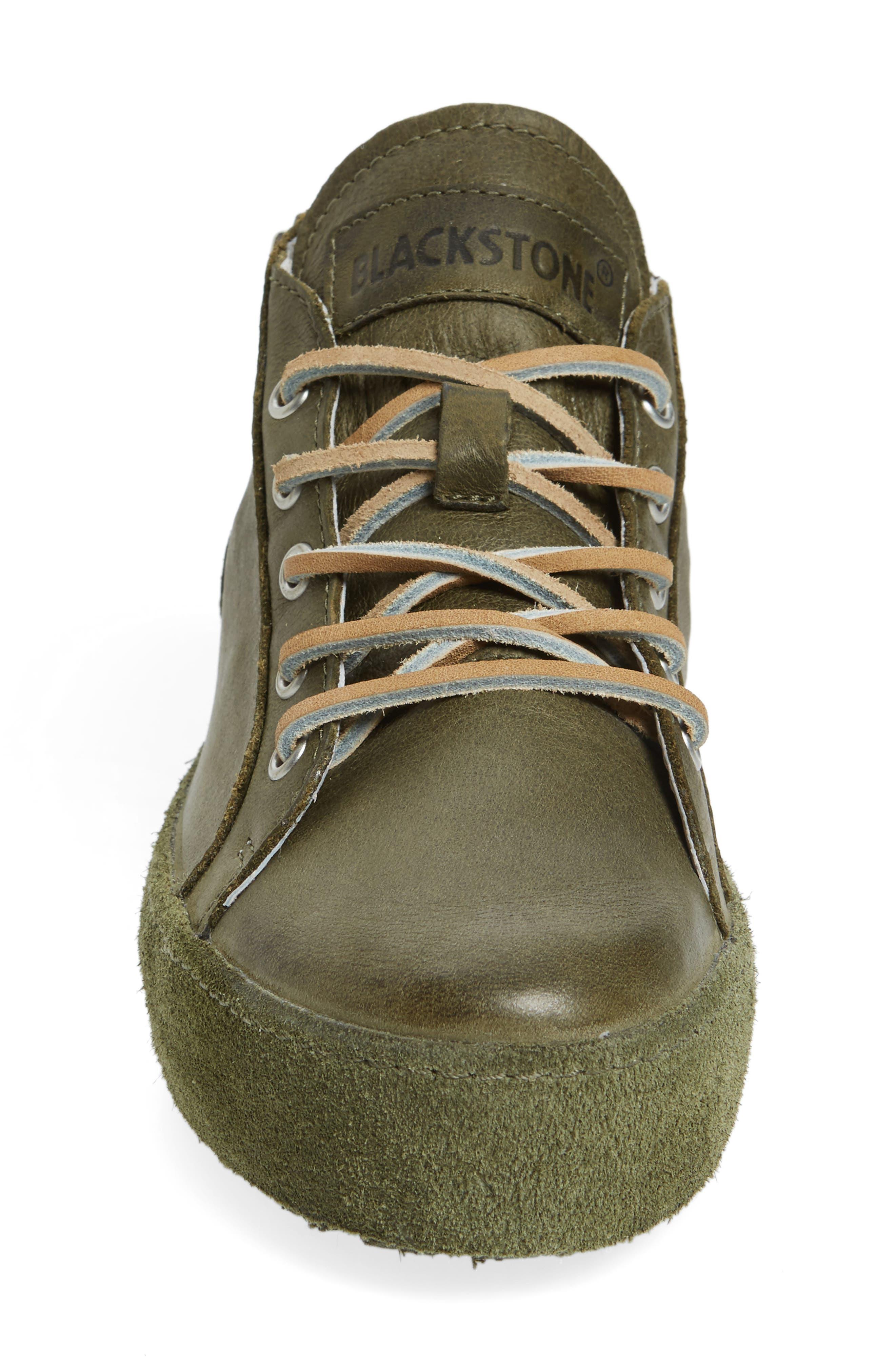 NL37 Midi Platform Sneaker,                             Alternate thumbnail 3, color,                             OLIVE LEATHER
