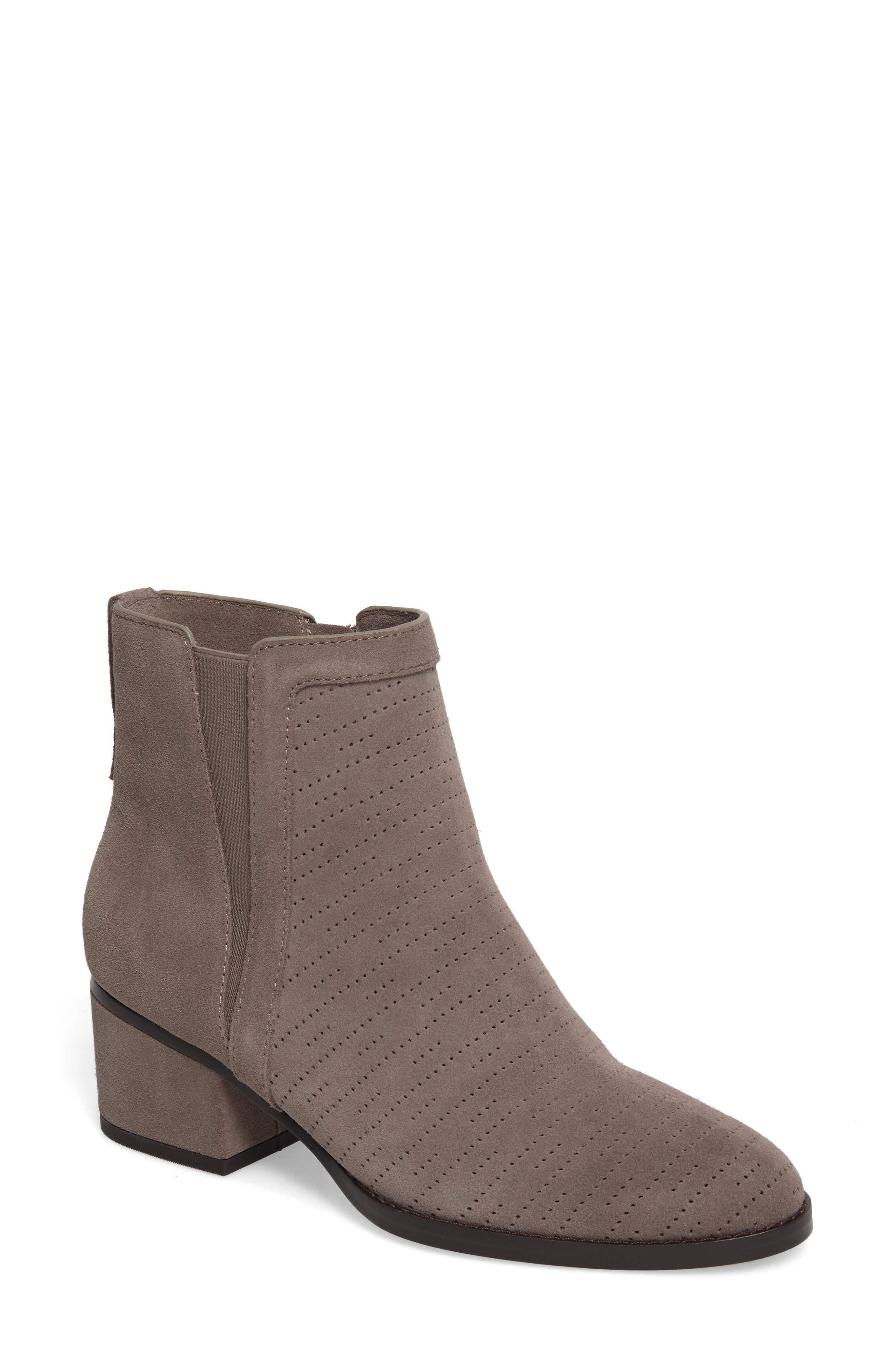 Rosalie Perforated Bootie,                             Main thumbnail 1, color,                             036