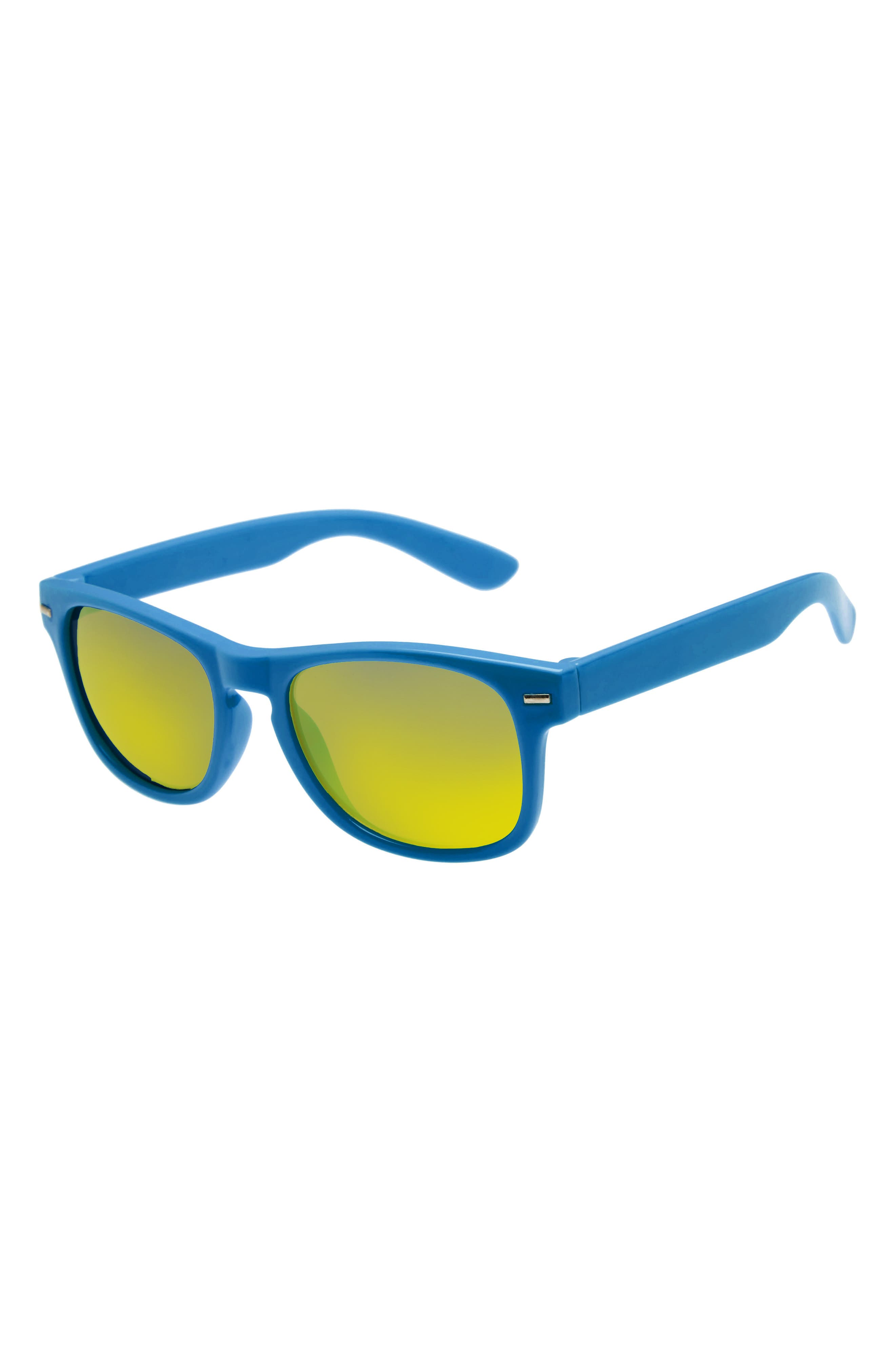 Mirrored Sunglasses,                         Main,                         color, 401