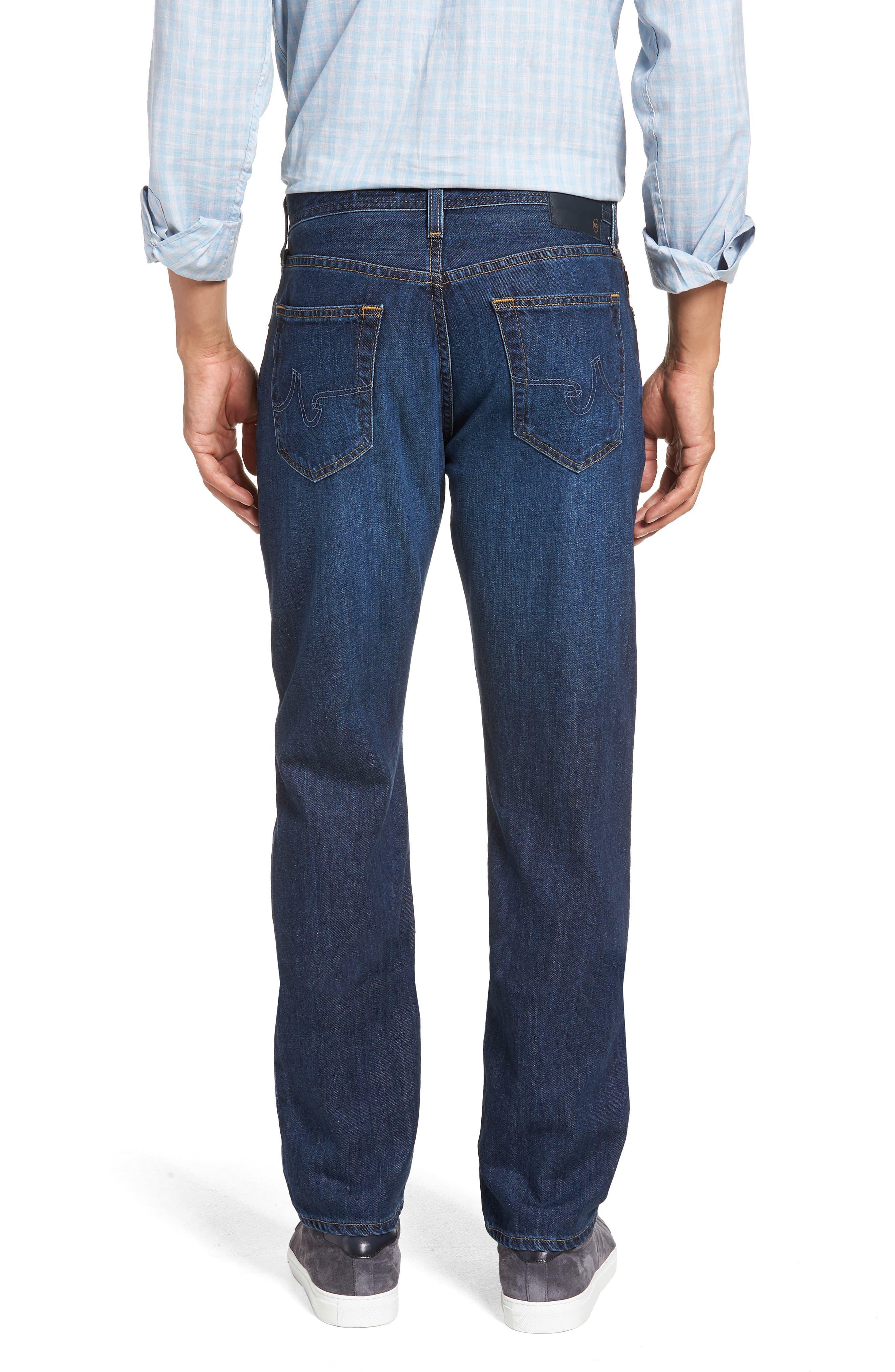 Graduate Slim Straight Leg Jeans,                             Alternate thumbnail 2, color,                             477