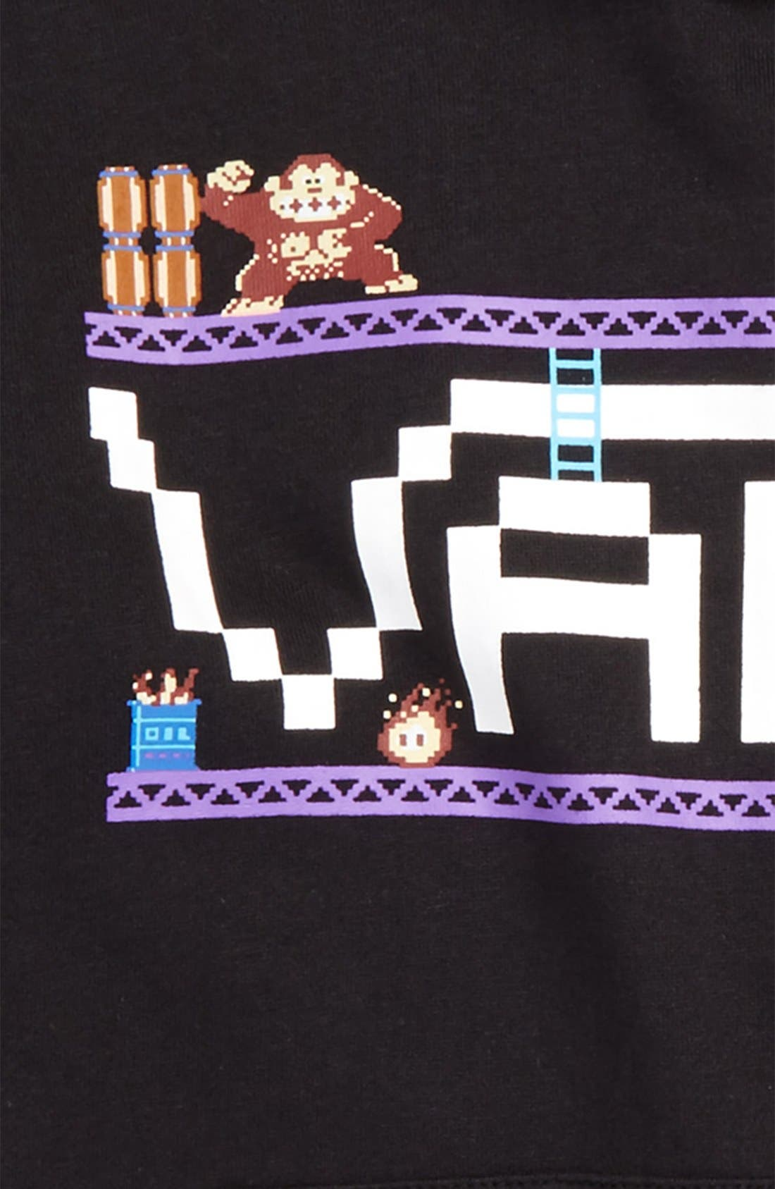 'Nintendo - Donkey Kong' Graphic Hoodie,                             Alternate thumbnail 2, color,                             001