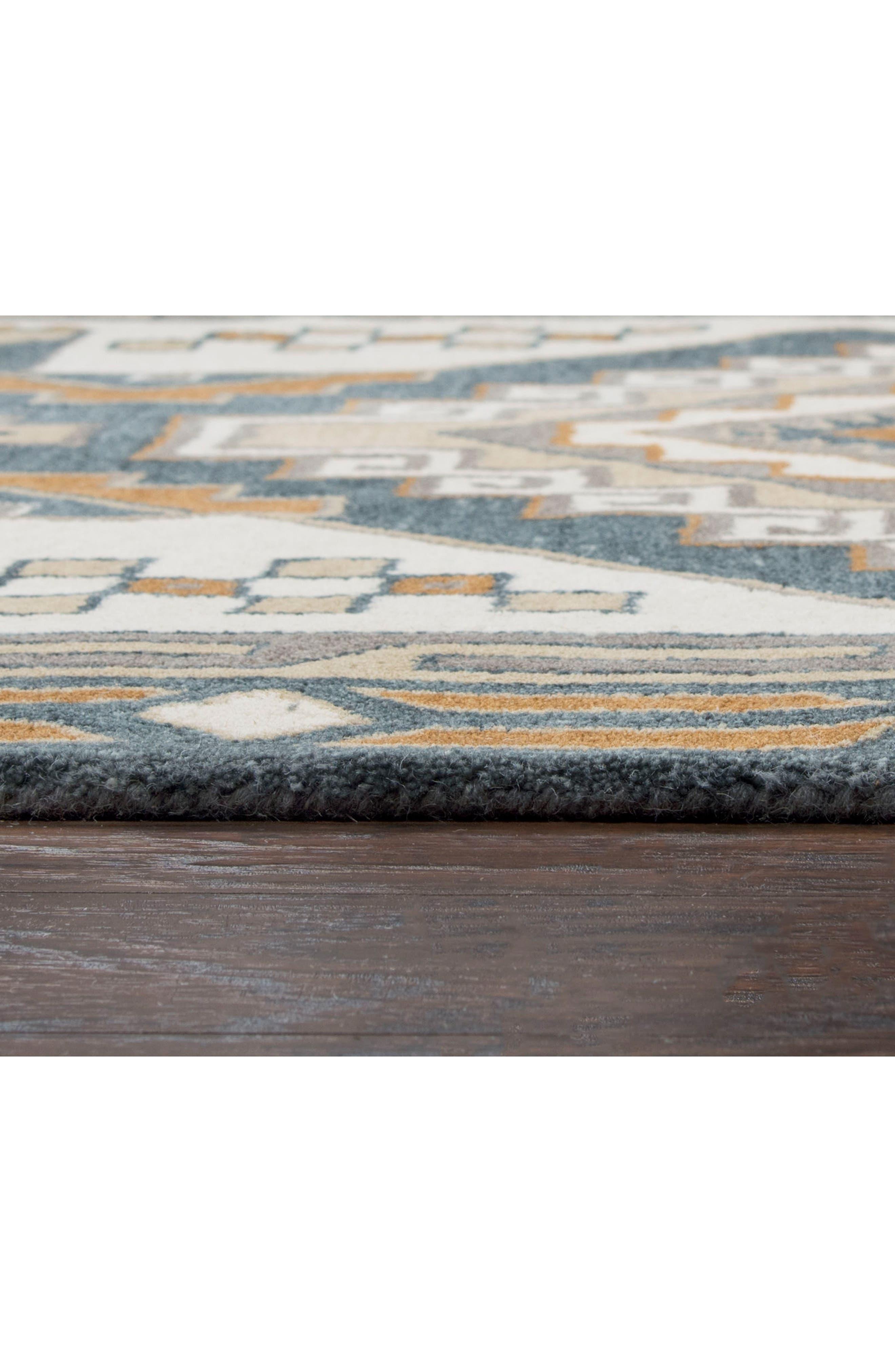 Urban Tiles Hand Tufted Wool Rug,                             Alternate thumbnail 2, color,                             220