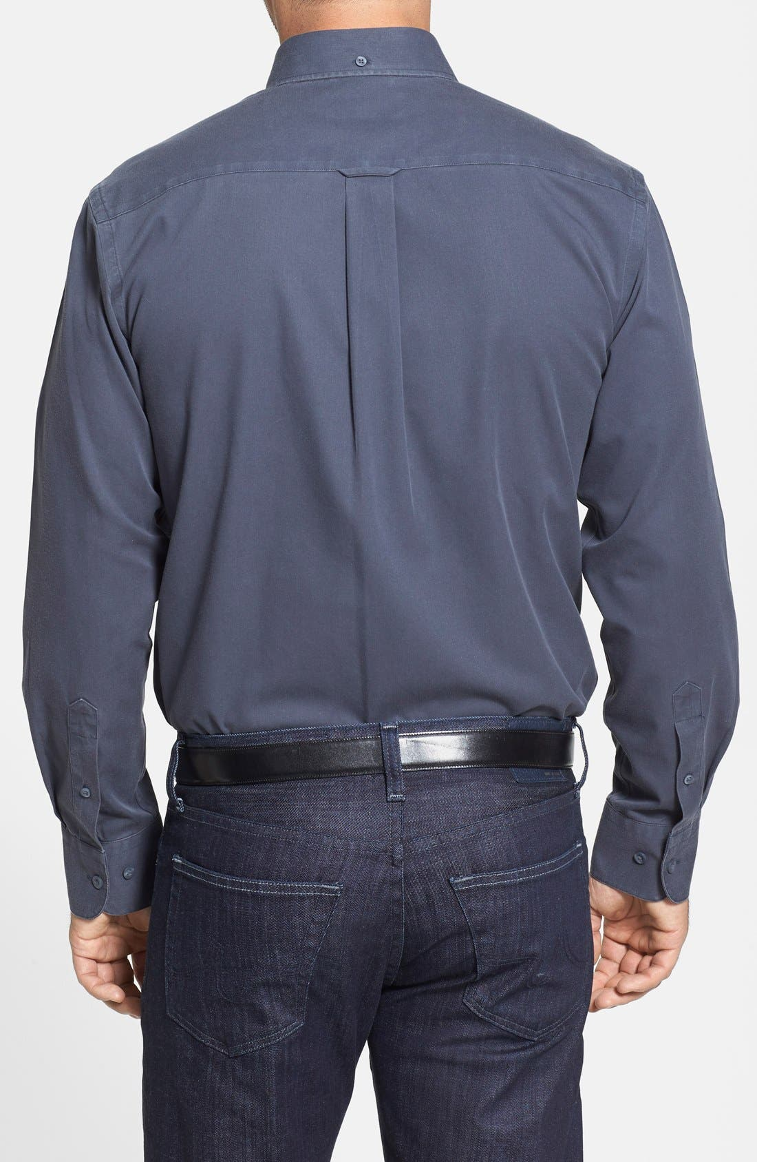 Smartcare<sup>™</sup> Traditional Fit Twill Boat Shirt,                             Alternate thumbnail 120, color,