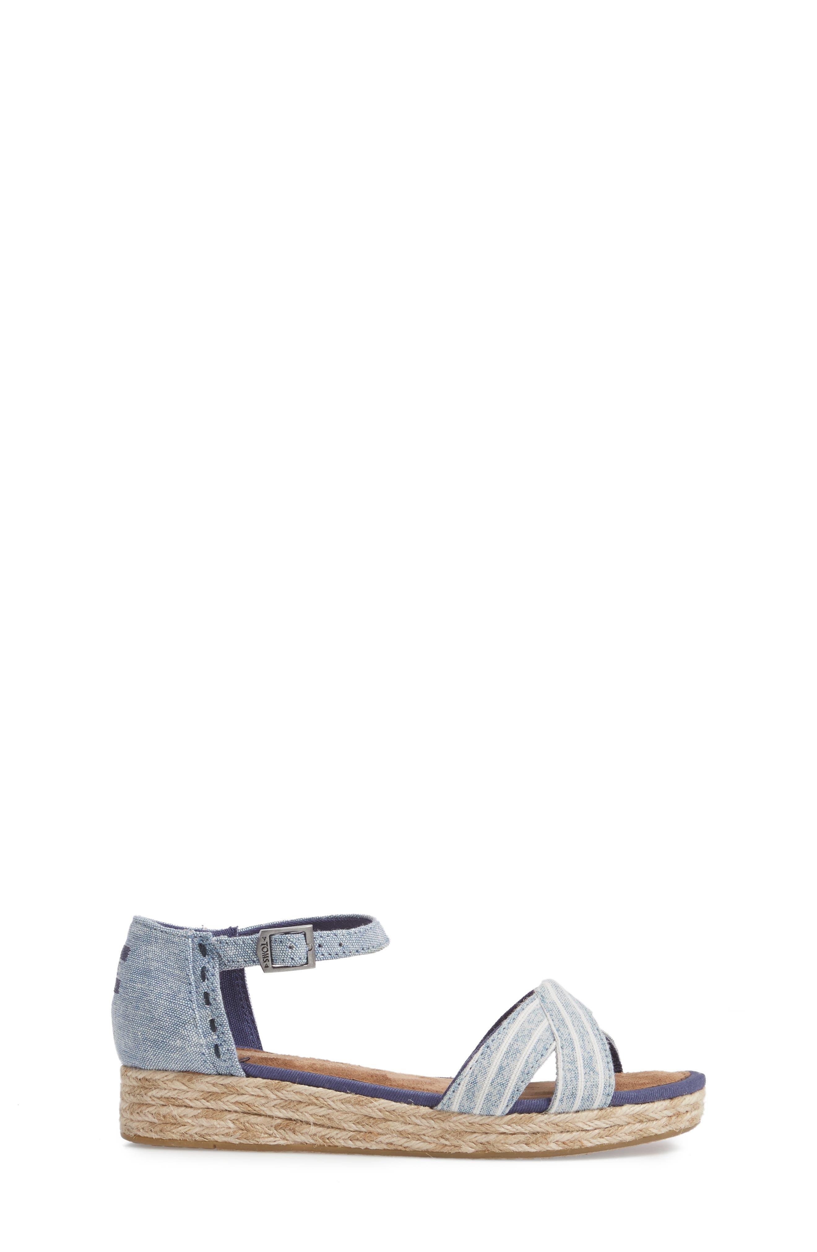 Harper Wedge Sandal,                             Alternate thumbnail 3, color,                             430