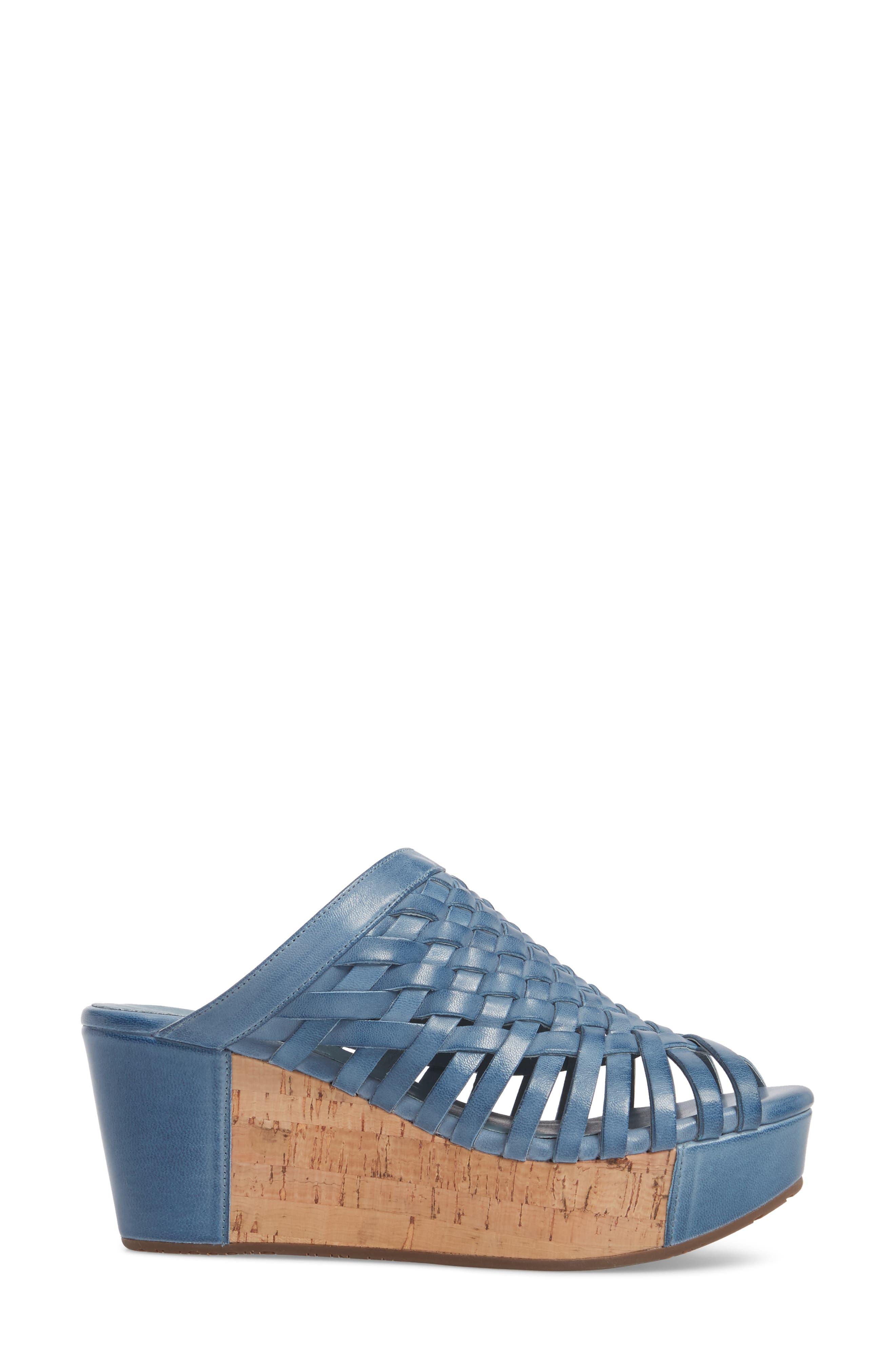 Walda Platform Wedge Sandal,                             Alternate thumbnail 9, color,