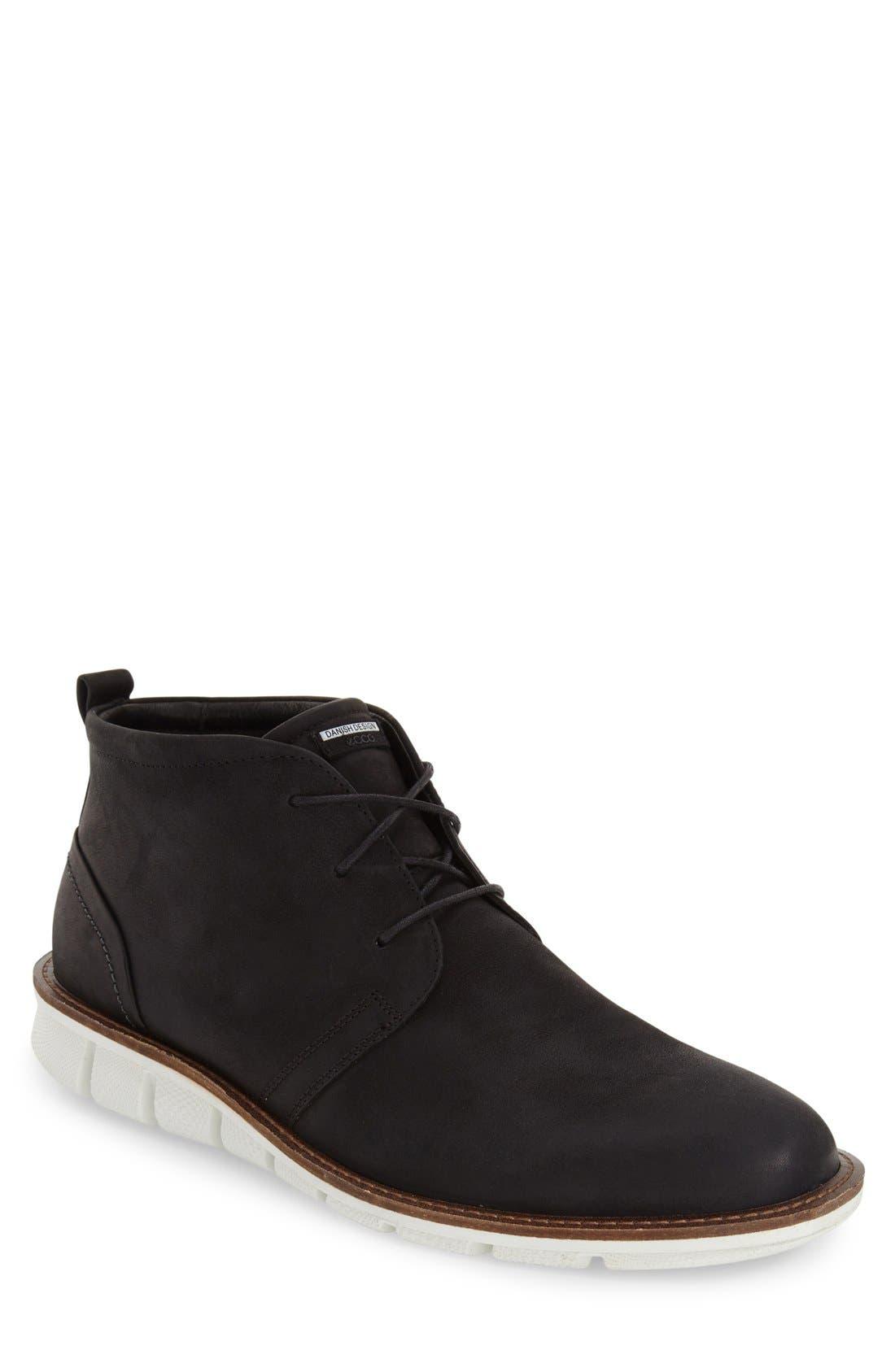 'Jeremy Hybrid' Plain Toe Boot,                         Main,                         color,