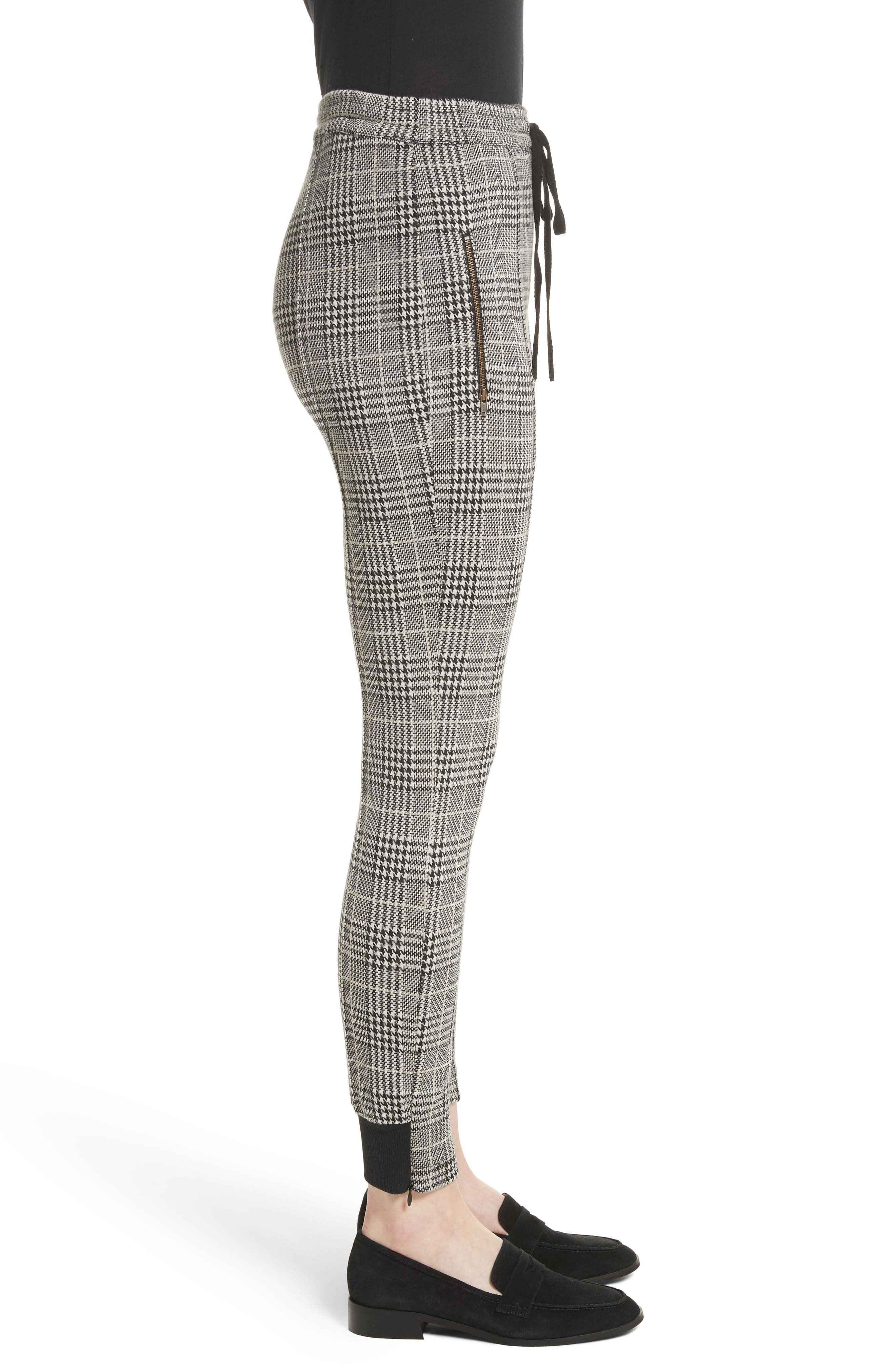Houndstooth Ankle Skinny Pants,                             Alternate thumbnail 3, color,