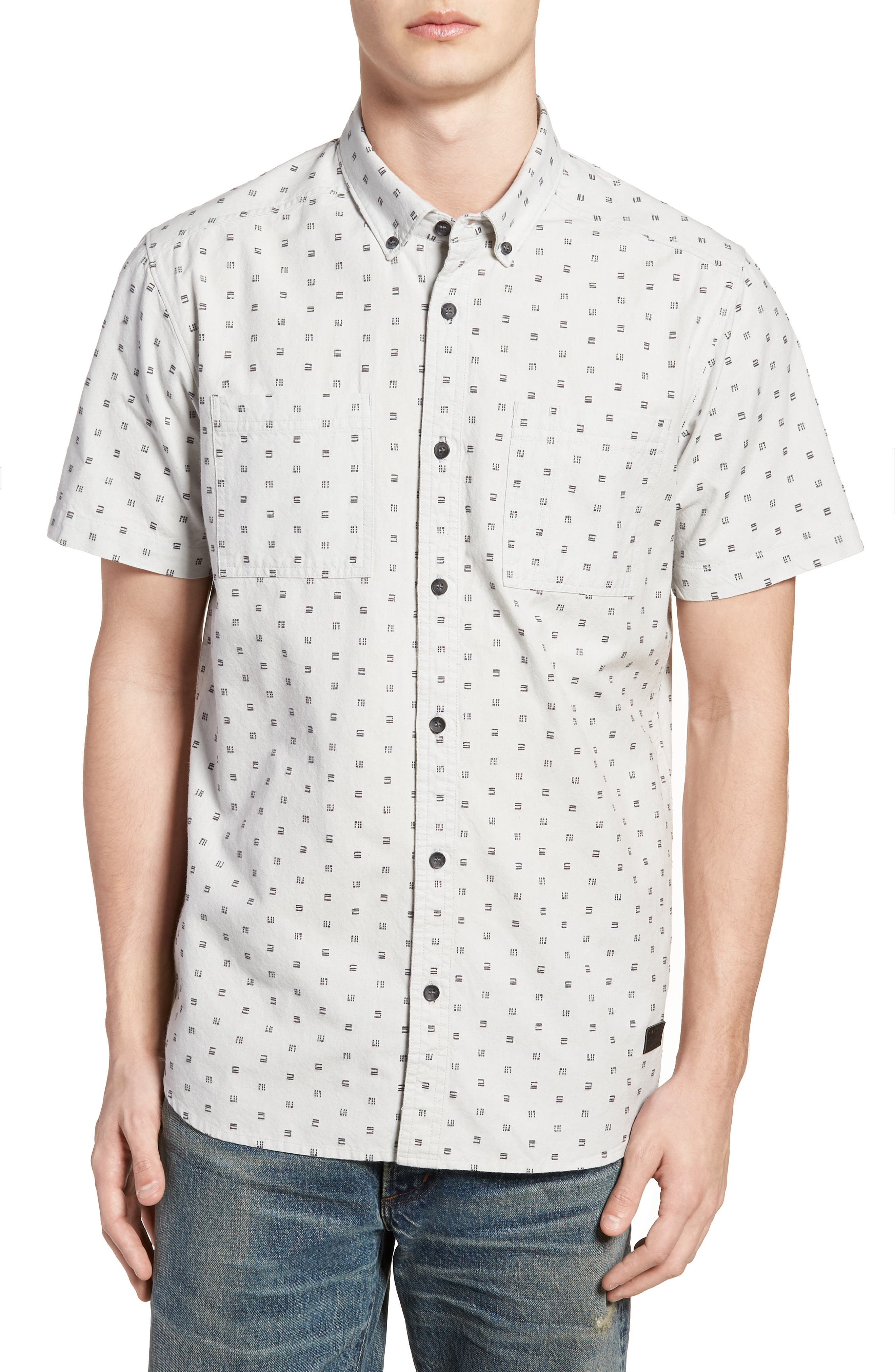 O'NEILL,                             Fifty Two Short Sleeve Shirt,                             Main thumbnail 1, color,                             036