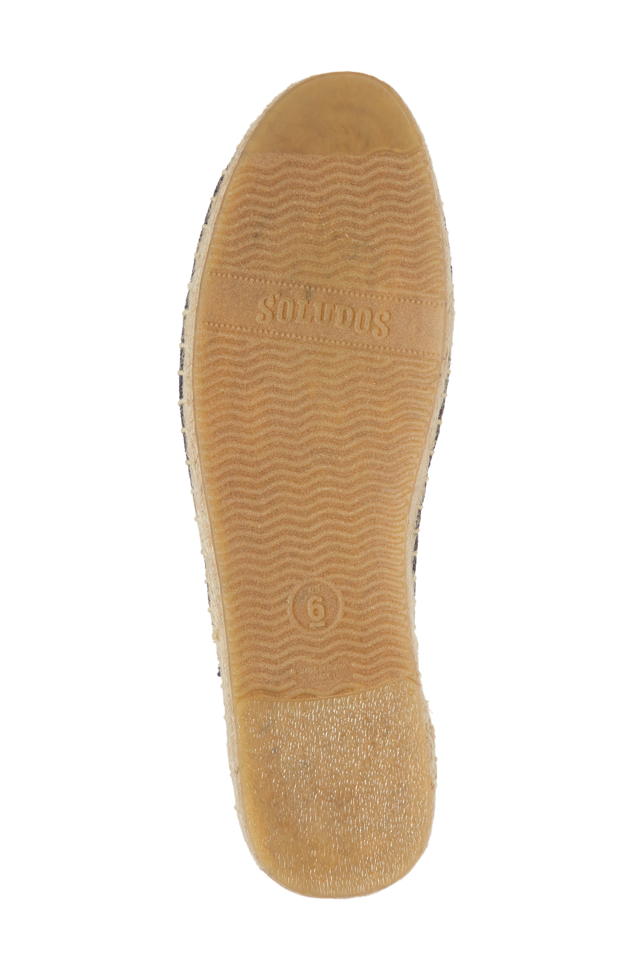 Ibiza Espadrille Mule,                             Alternate thumbnail 6, color,                             MIDNIGHT BLUE CANVAS