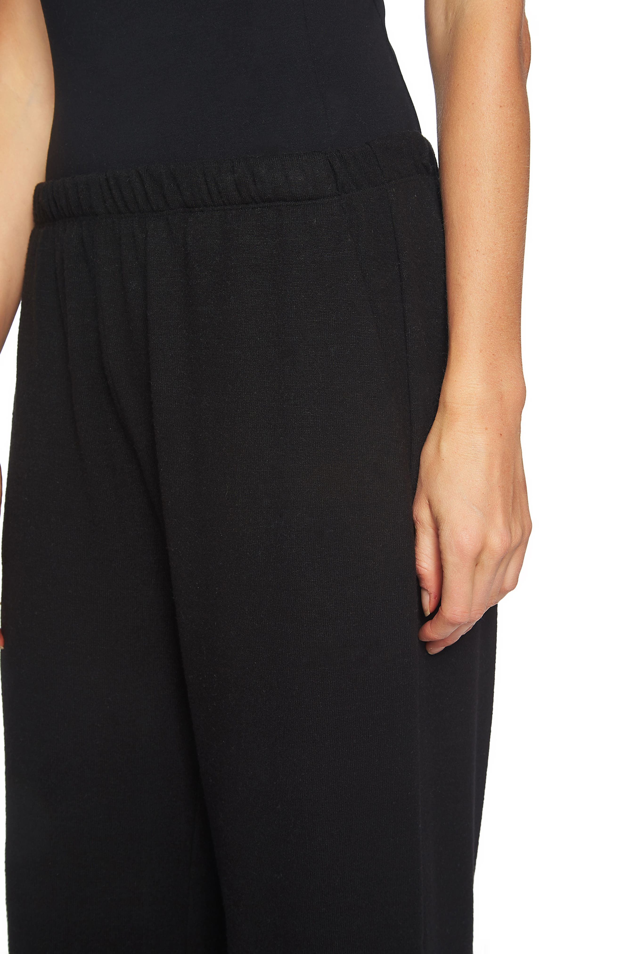 Brushed Jersey Culottes,                             Alternate thumbnail 4, color,                             006