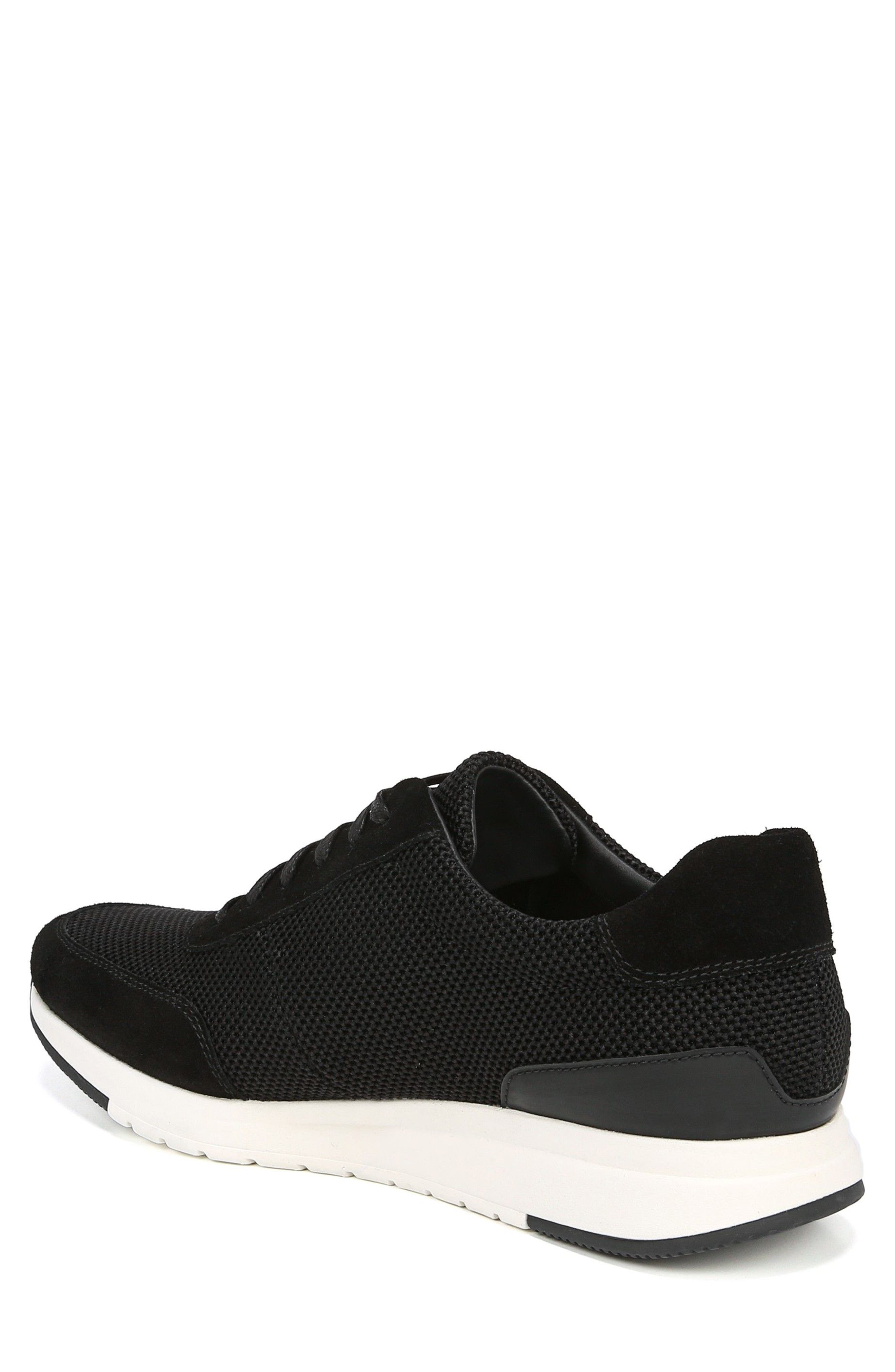 Payton Mesh Sneaker,                             Alternate thumbnail 2, color,                             BLACK