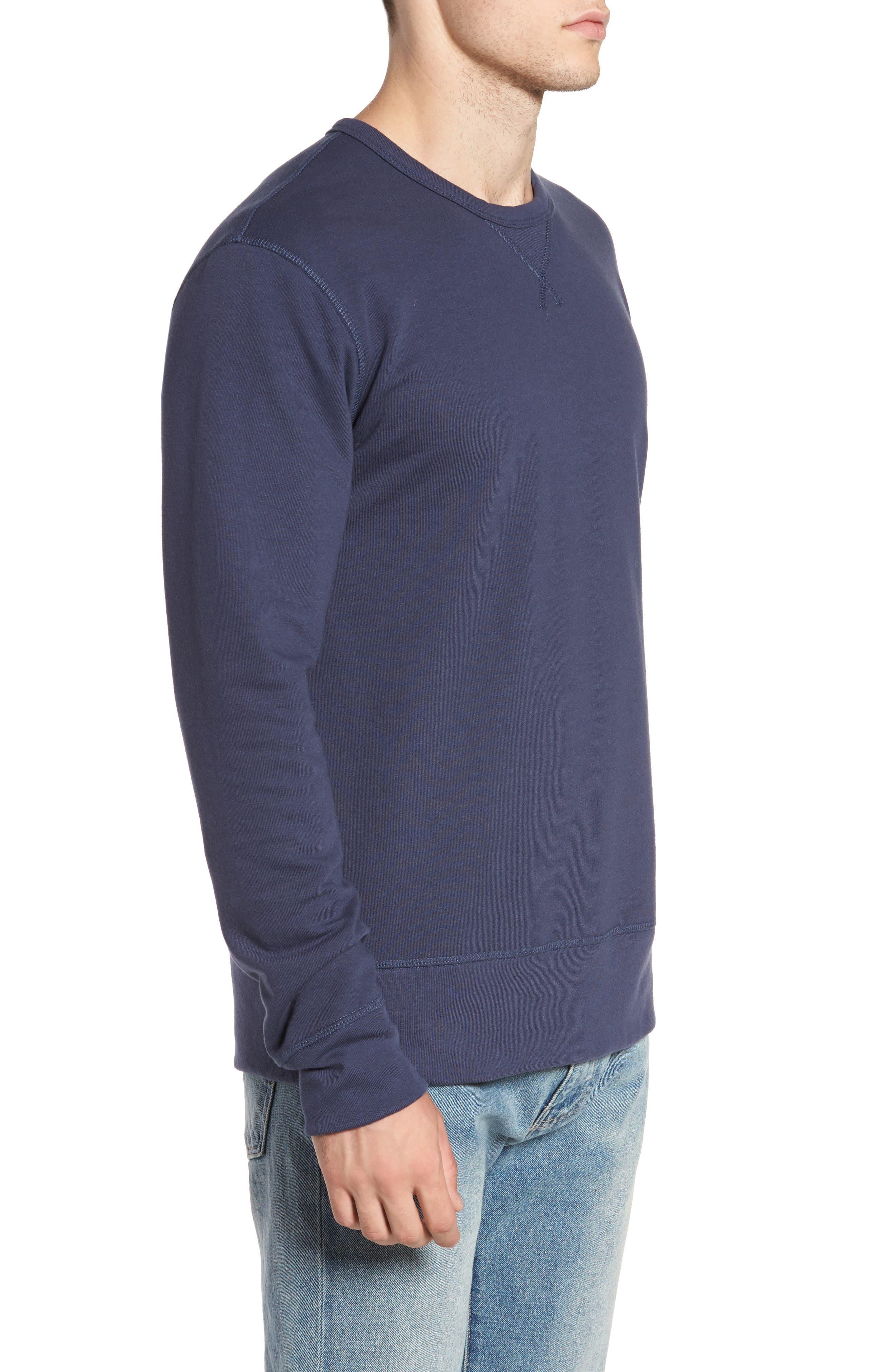 B-Side Reversible Crewneck Sweatshirt,                             Alternate thumbnail 19, color,