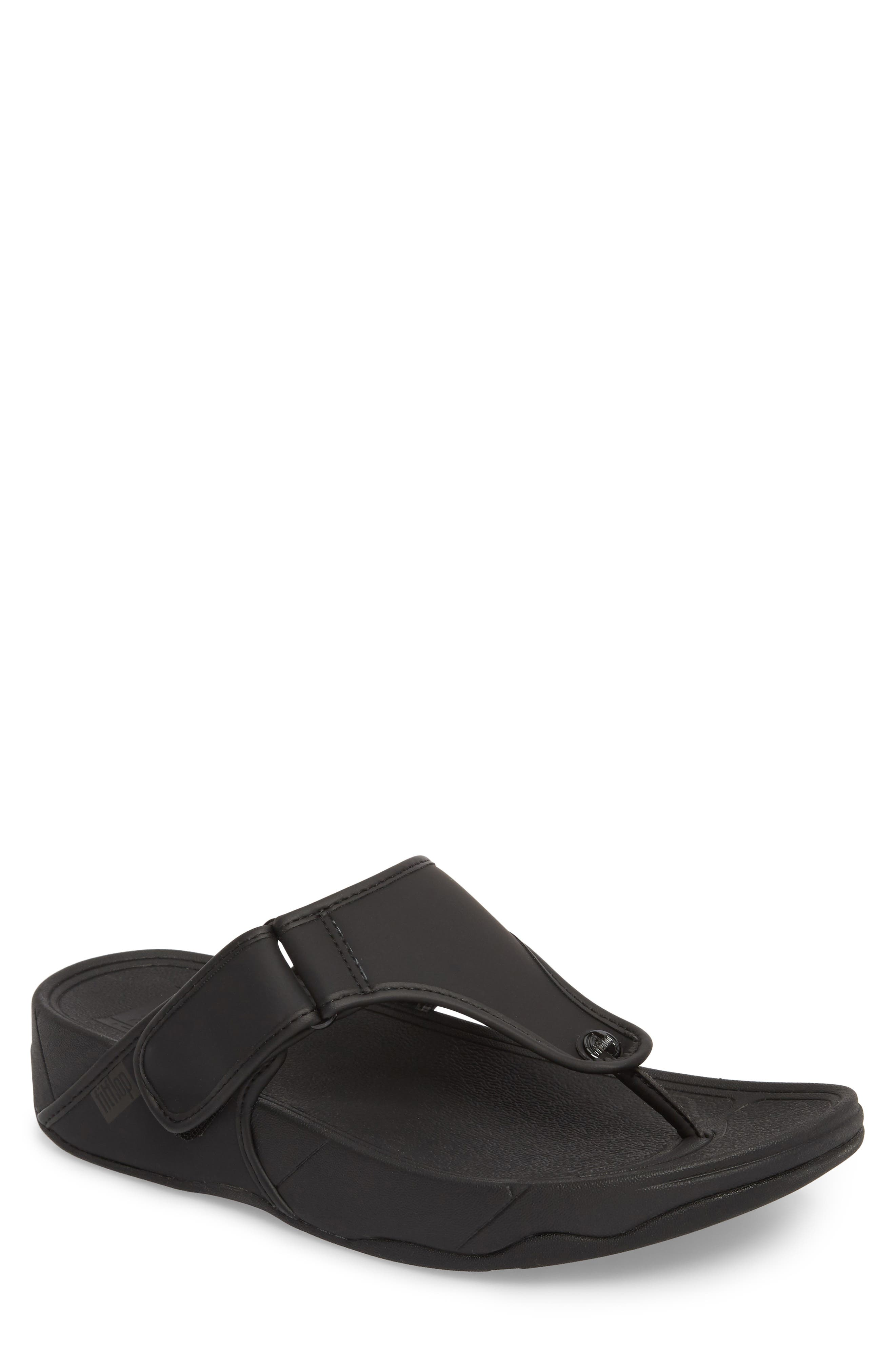 FITFLOP,                             Trakk<sup>™</sup> II Sandal,                             Main thumbnail 1, color,                             BLACK NEOPRENE