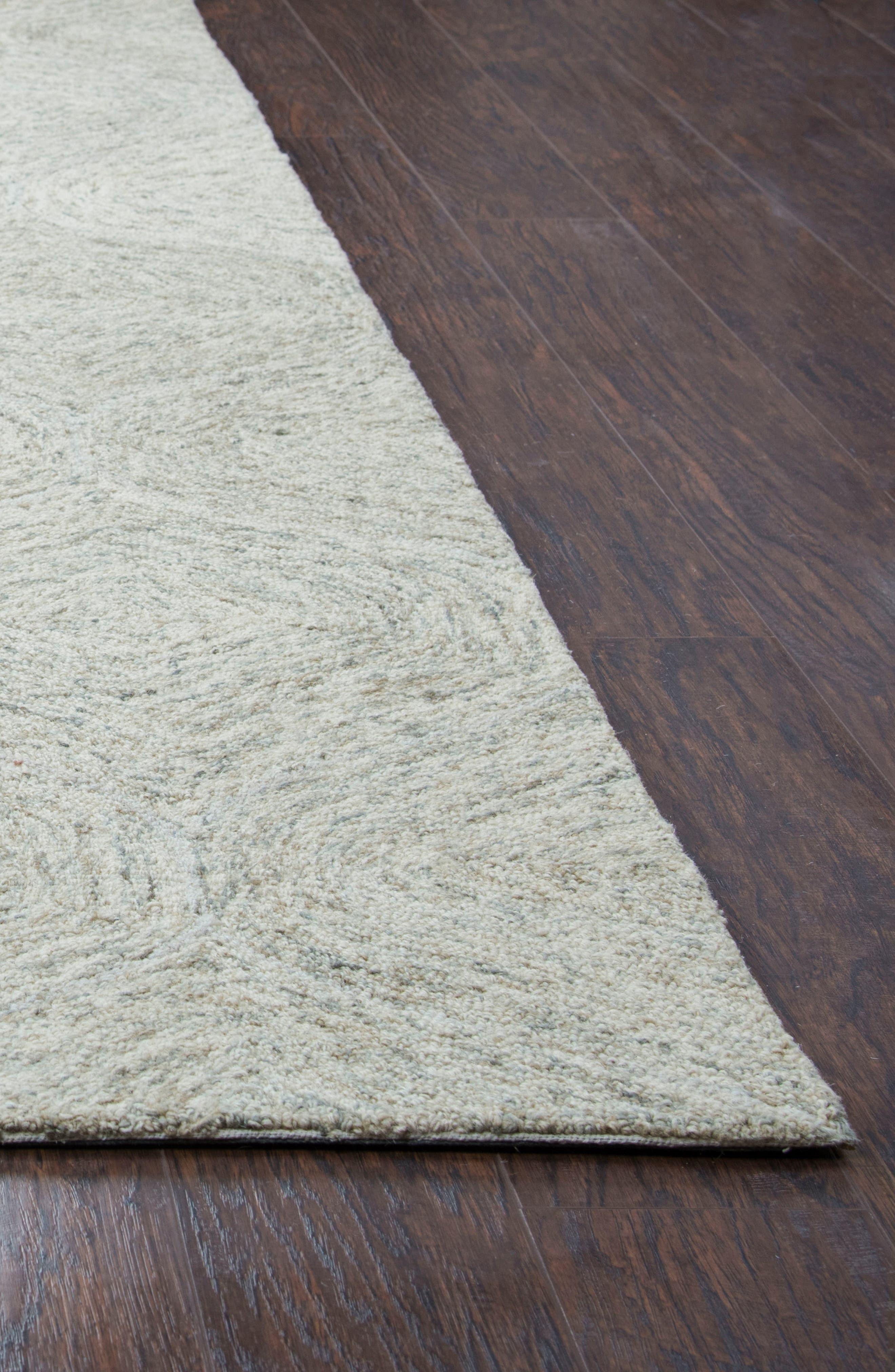 Irregular Diamond Hand Tufted Wool Area Rug,                             Alternate thumbnail 17, color,