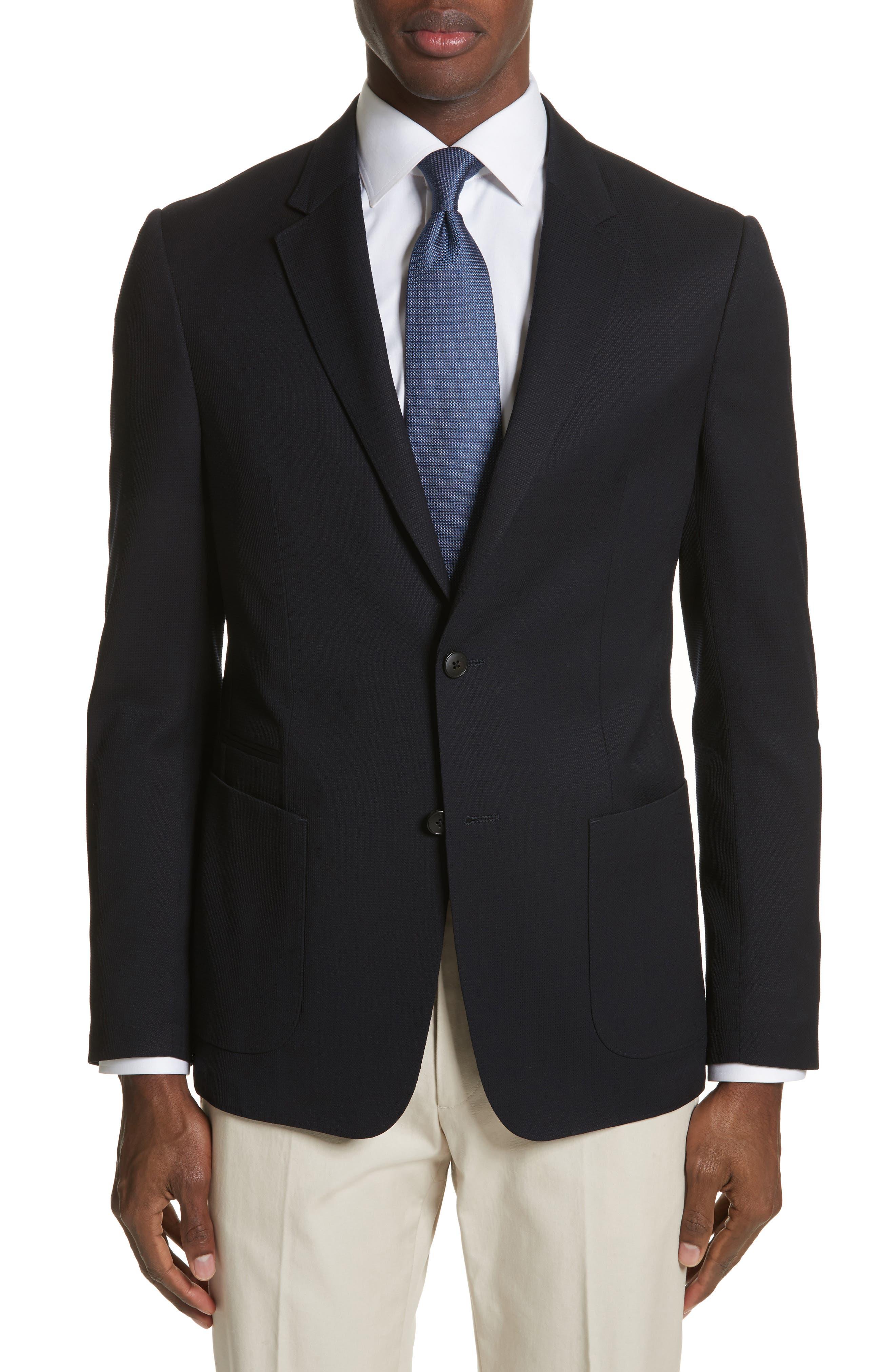 TECHMERINO<sup>™</sup> Wash & Go Classic Fit Wool Blazer,                         Main,                         color,