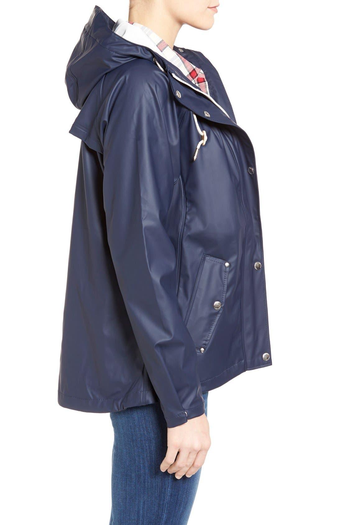 'Tora' Hooded Rain Jacket,                             Alternate thumbnail 4, color,                             400