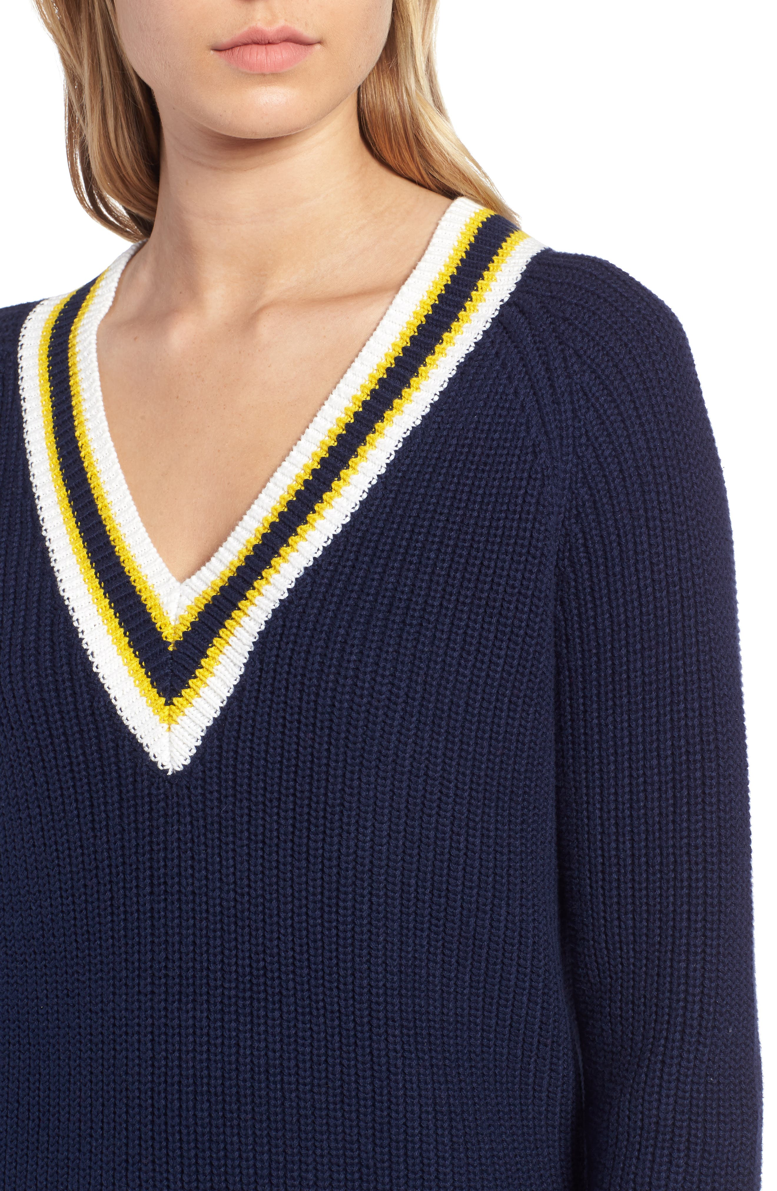 Tennis Sweater,                             Alternate thumbnail 5, color,                             410