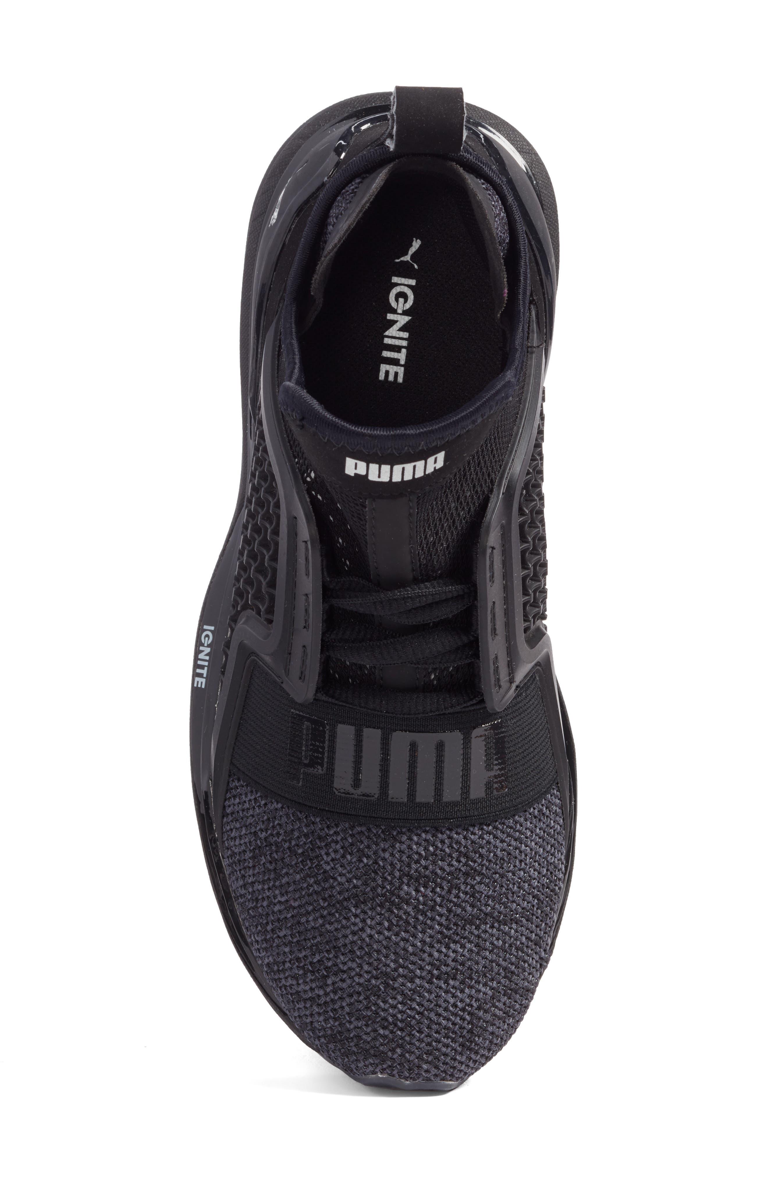 Ignite Limitless Sneaker,                             Alternate thumbnail 5, color,                             001
