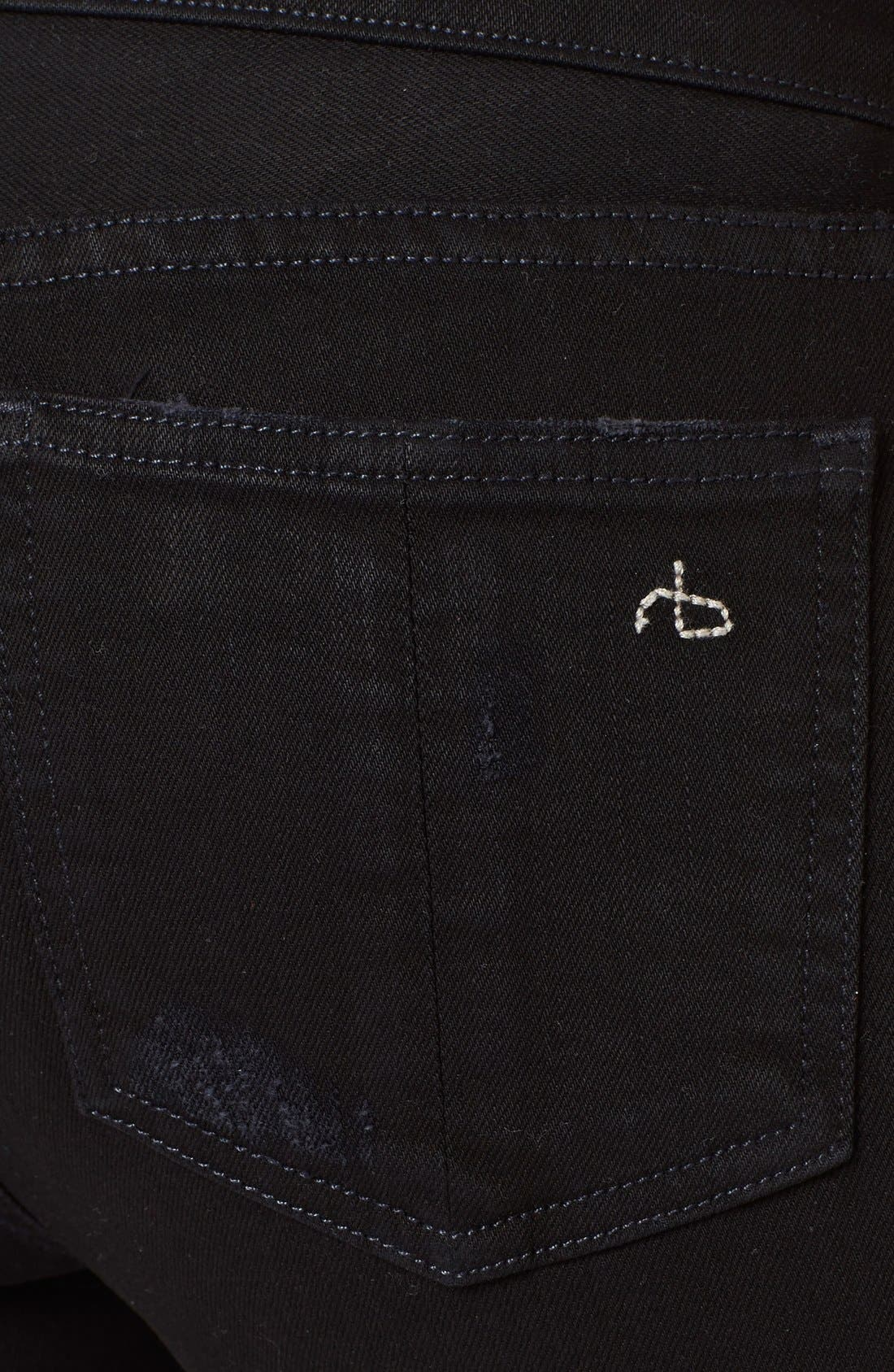 'The Skinny' Stretch Jeans,                             Alternate thumbnail 19, color,