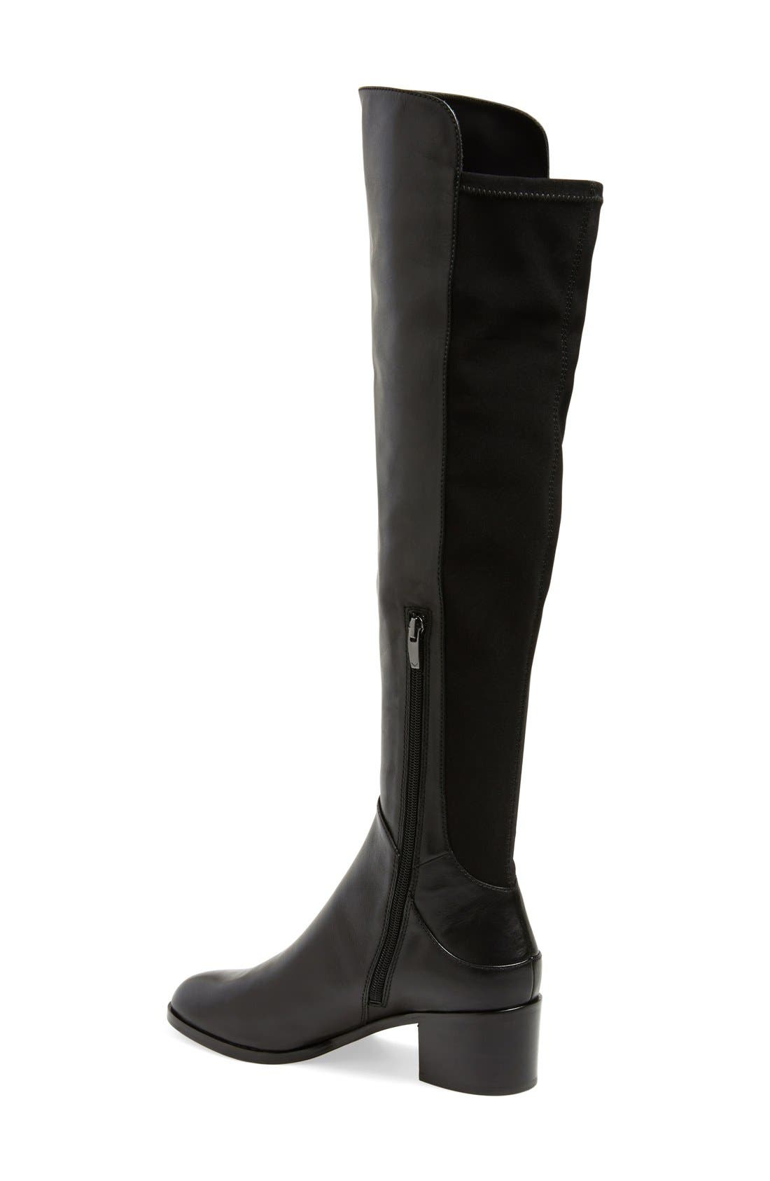 'Alto' Over the Knee Boot,                             Alternate thumbnail 3, color,                             001