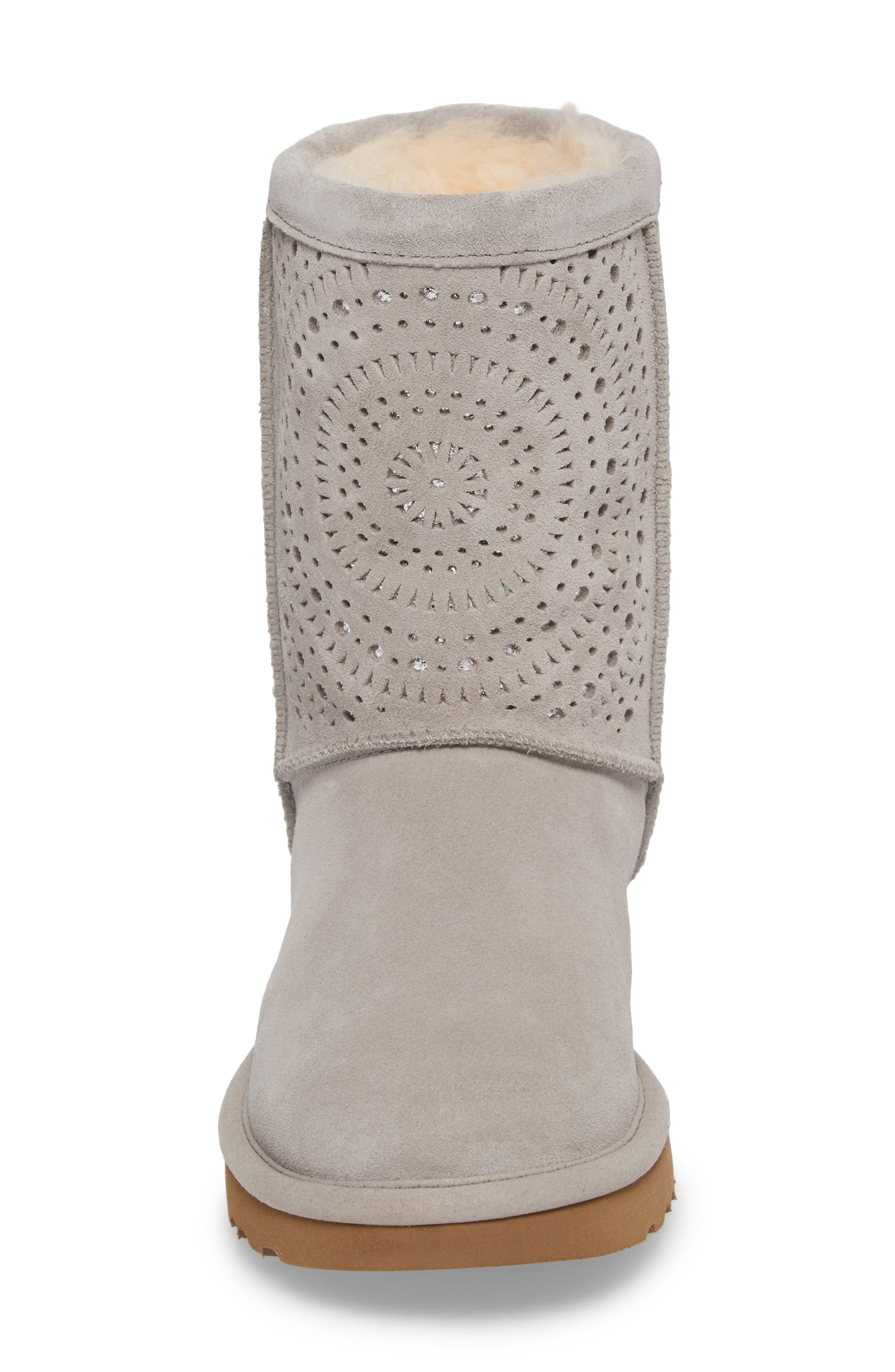 Classic Short Sunshine Perforated Boot,                             Alternate thumbnail 10, color,