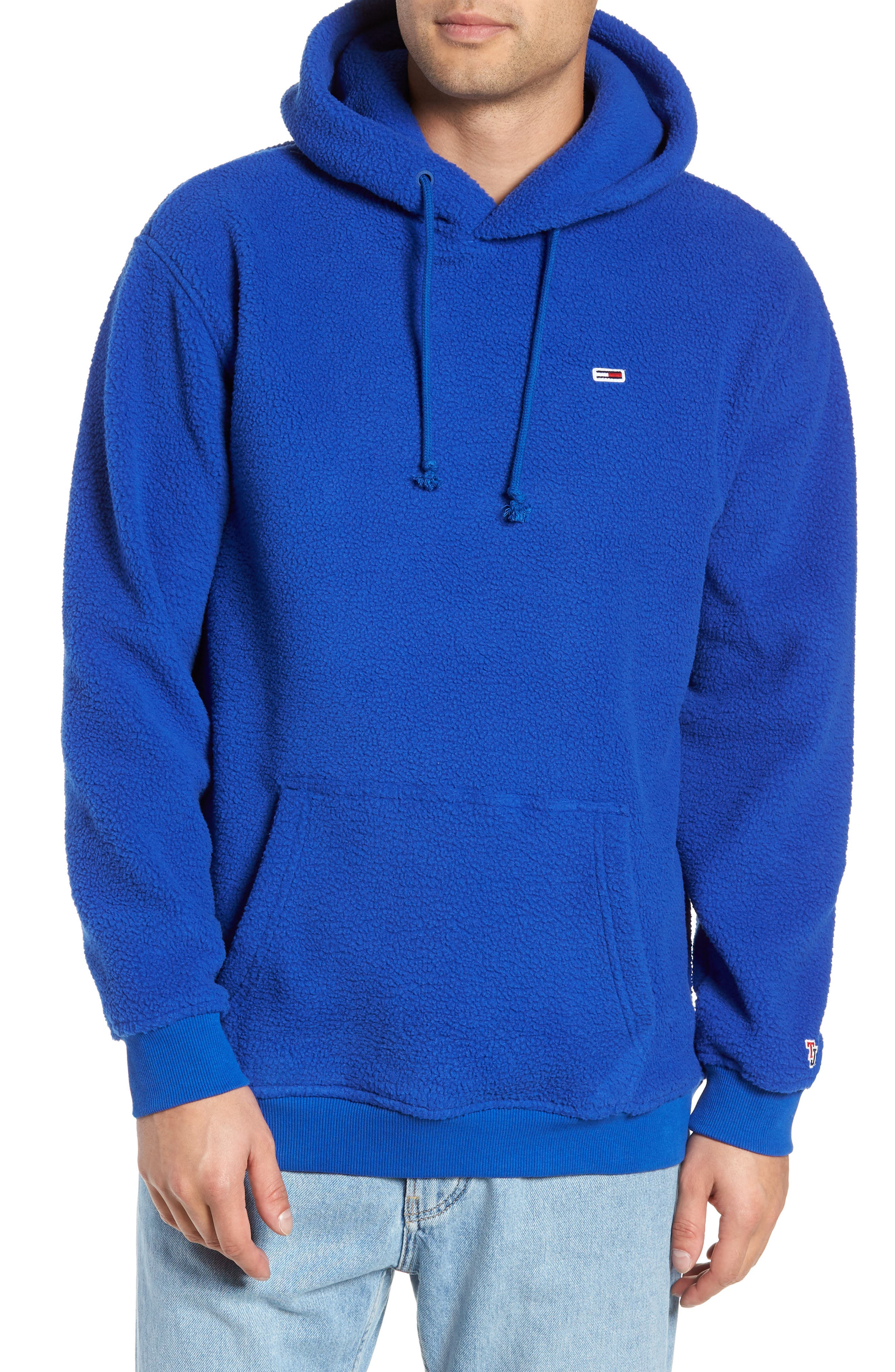 TJM Tommy Classics Polar Hoodie,                             Main thumbnail 1, color,                             SURF THE WEB