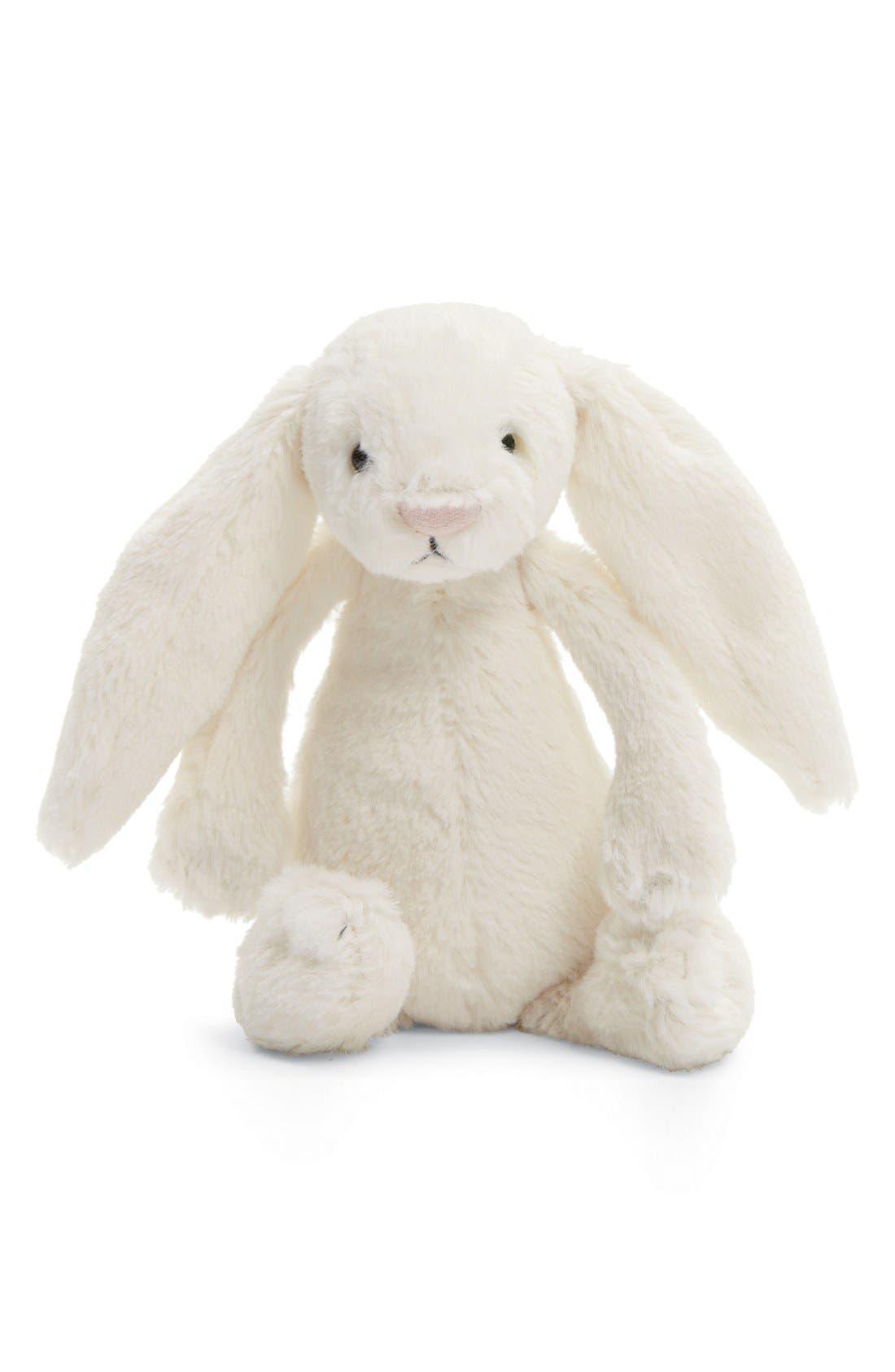 'Large Bashful Bunny' Stuffed Animal,                         Main,                         color, CREAM