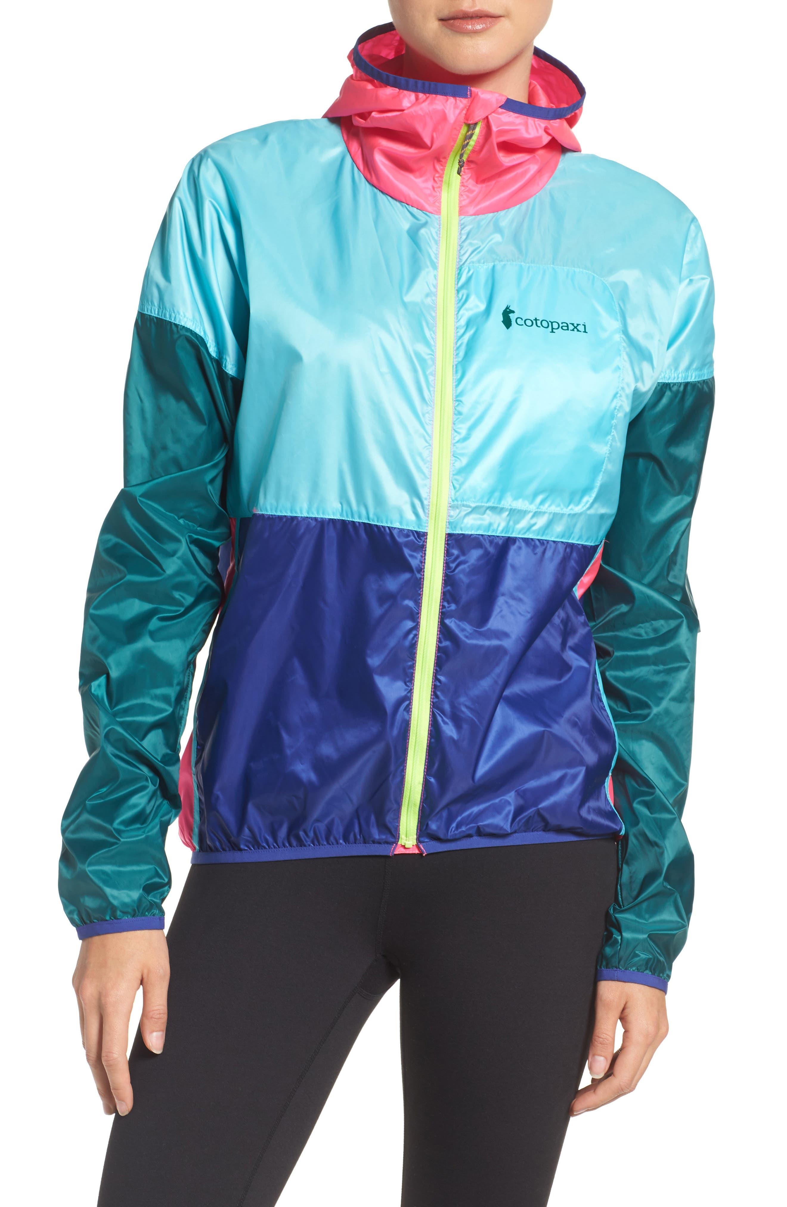 Teca Packable Water Resistant Windbreaker Jacket,                             Main thumbnail 7, color,