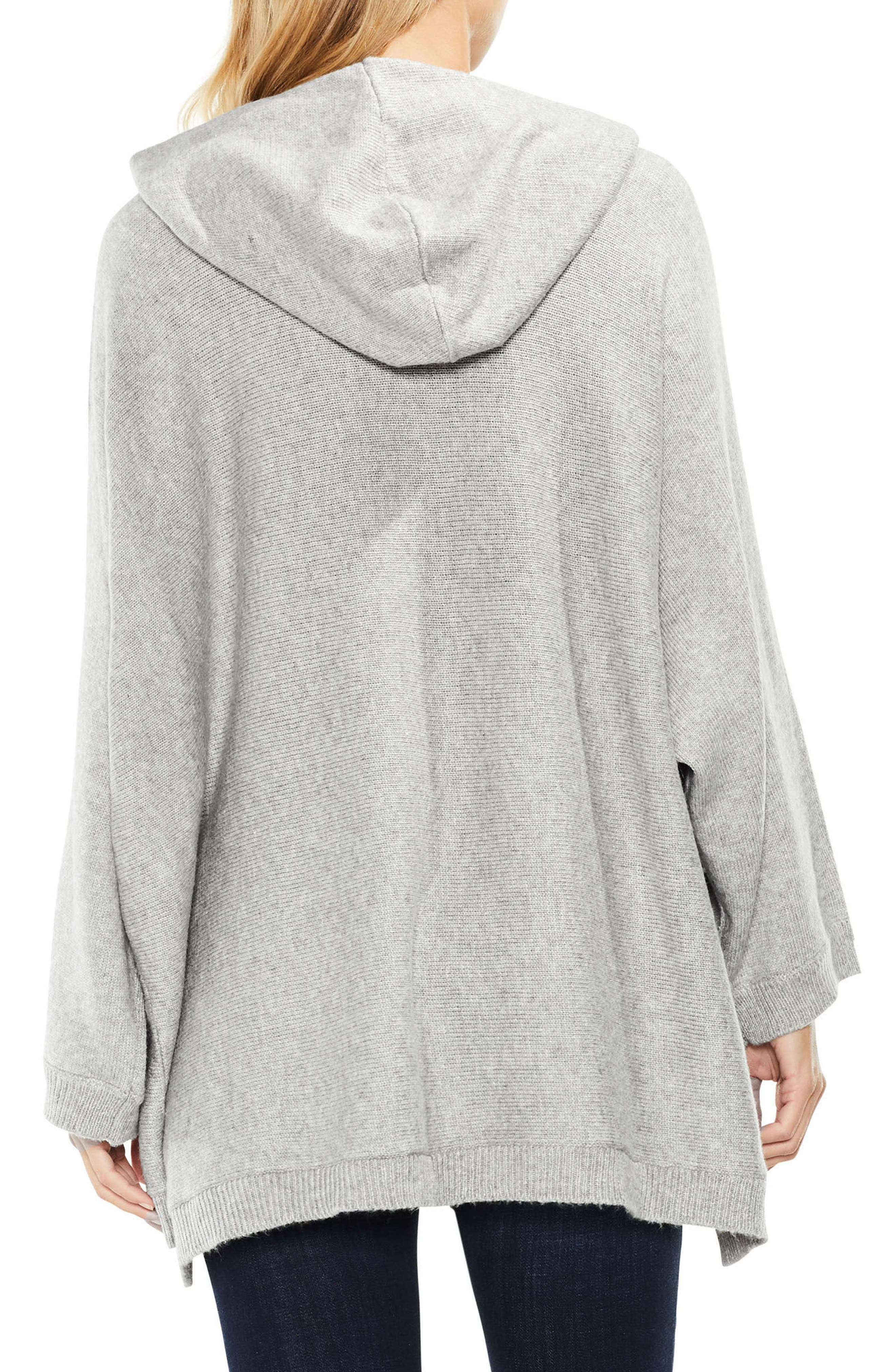 Dolman Sleeve Relaxed Hooded Sweater,                             Alternate thumbnail 3, color,
