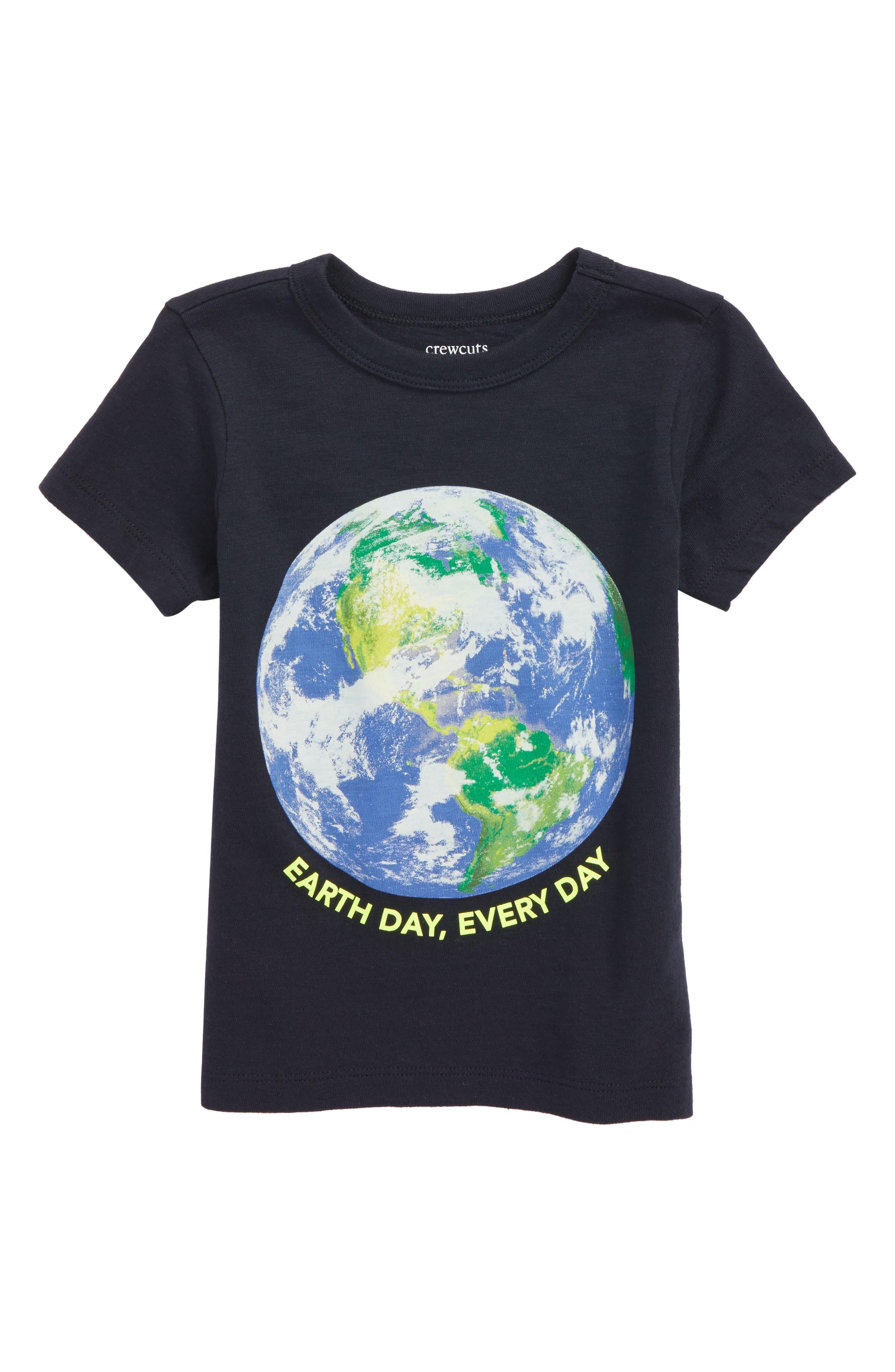Earth Day Graphic T-Shirt,                             Main thumbnail 1, color,                             020