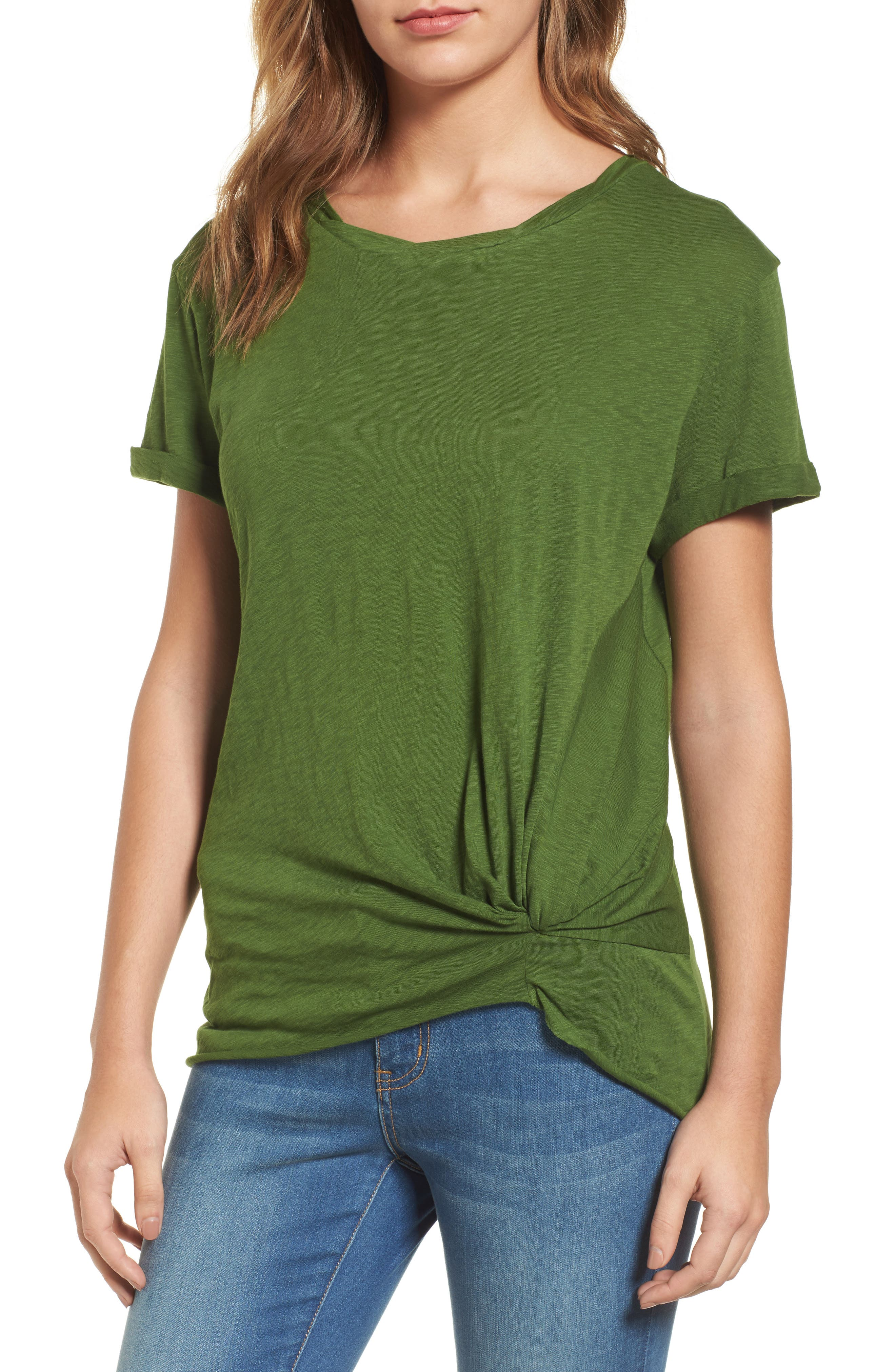 Knotted Tee,                             Main thumbnail 8, color,