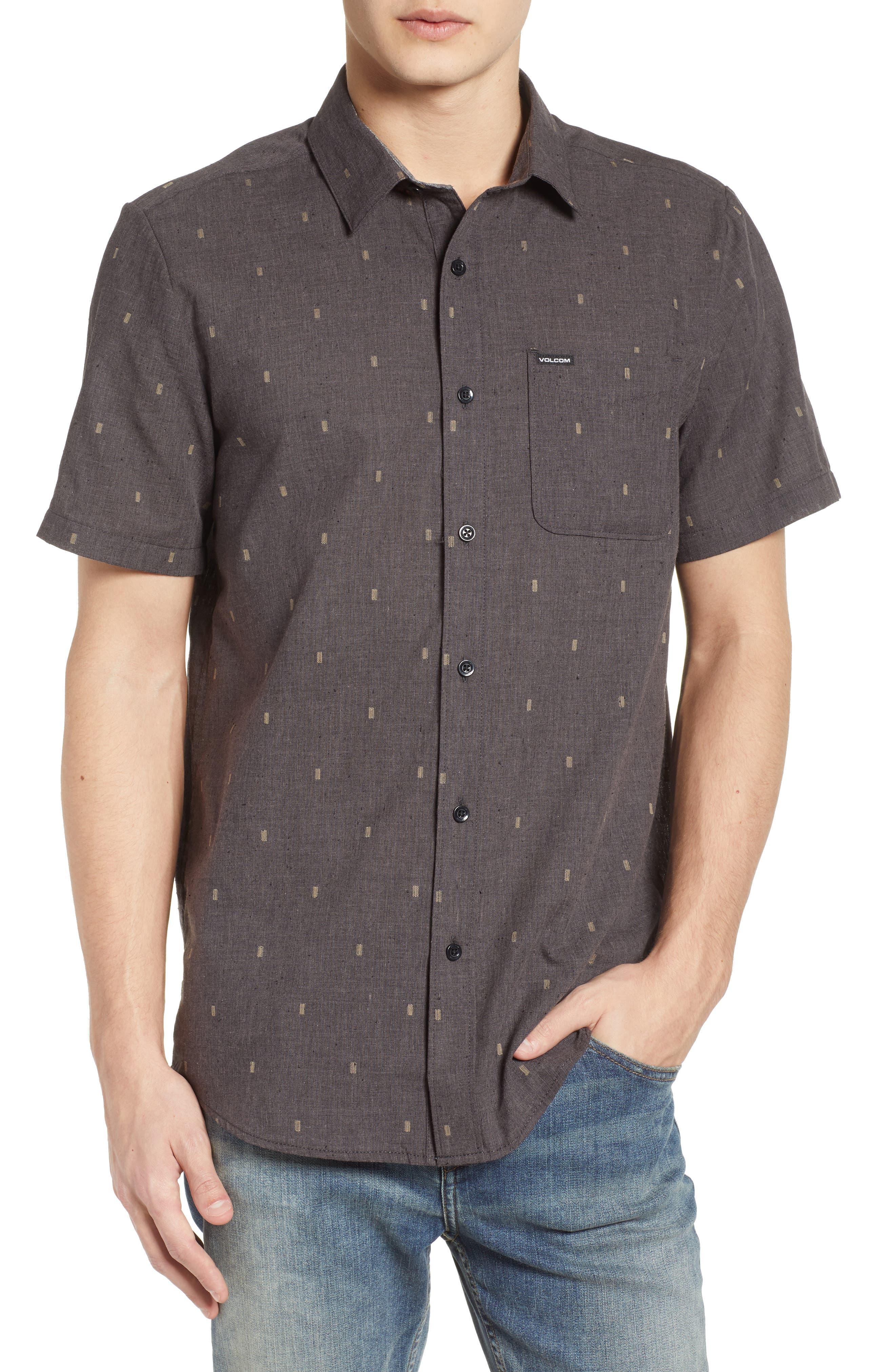Gladstone Short Sleeve Shirt,                             Main thumbnail 1, color,                             001