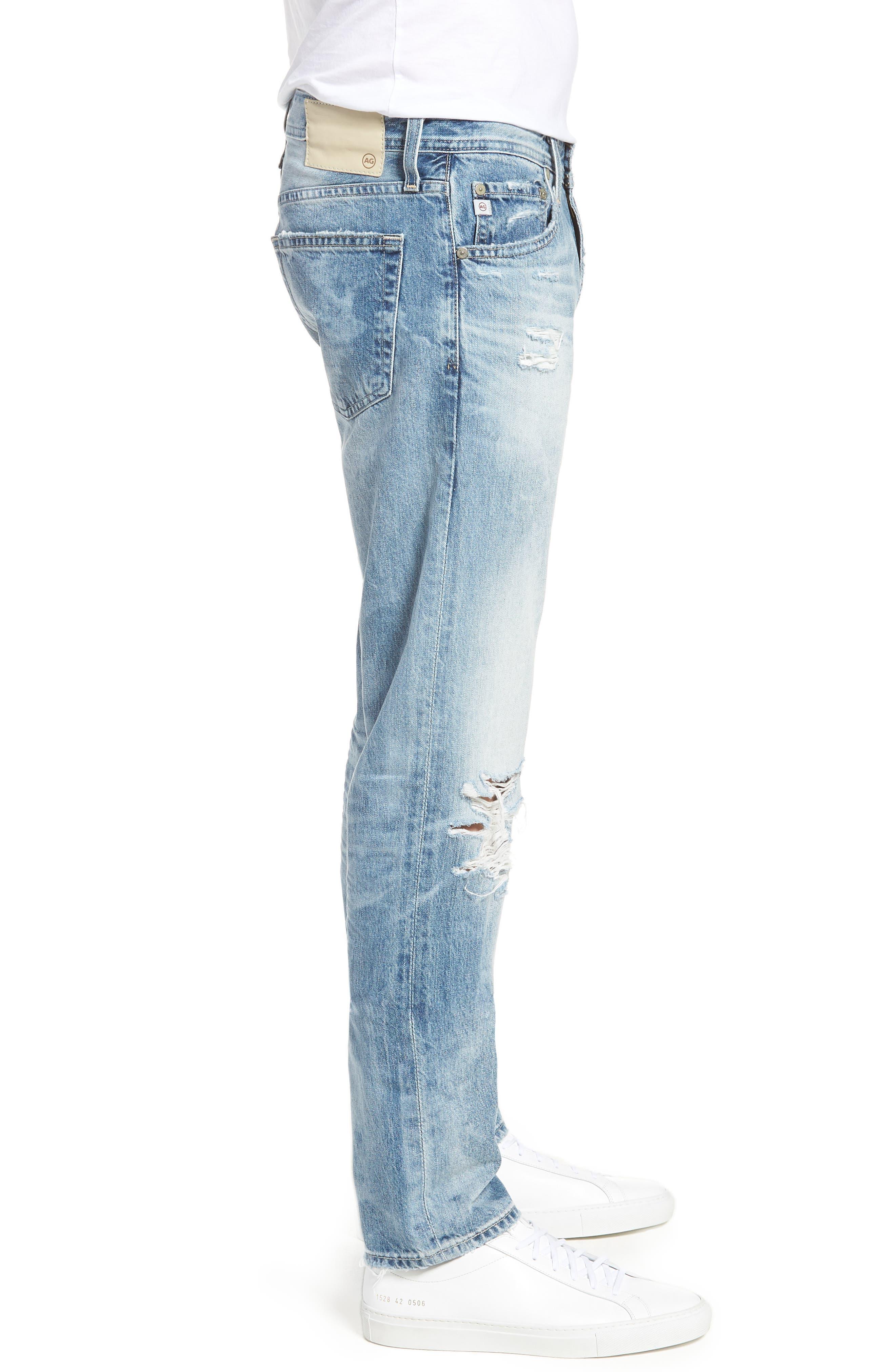 Tellis Slim Fit Jeans,                             Alternate thumbnail 3, color,                             461