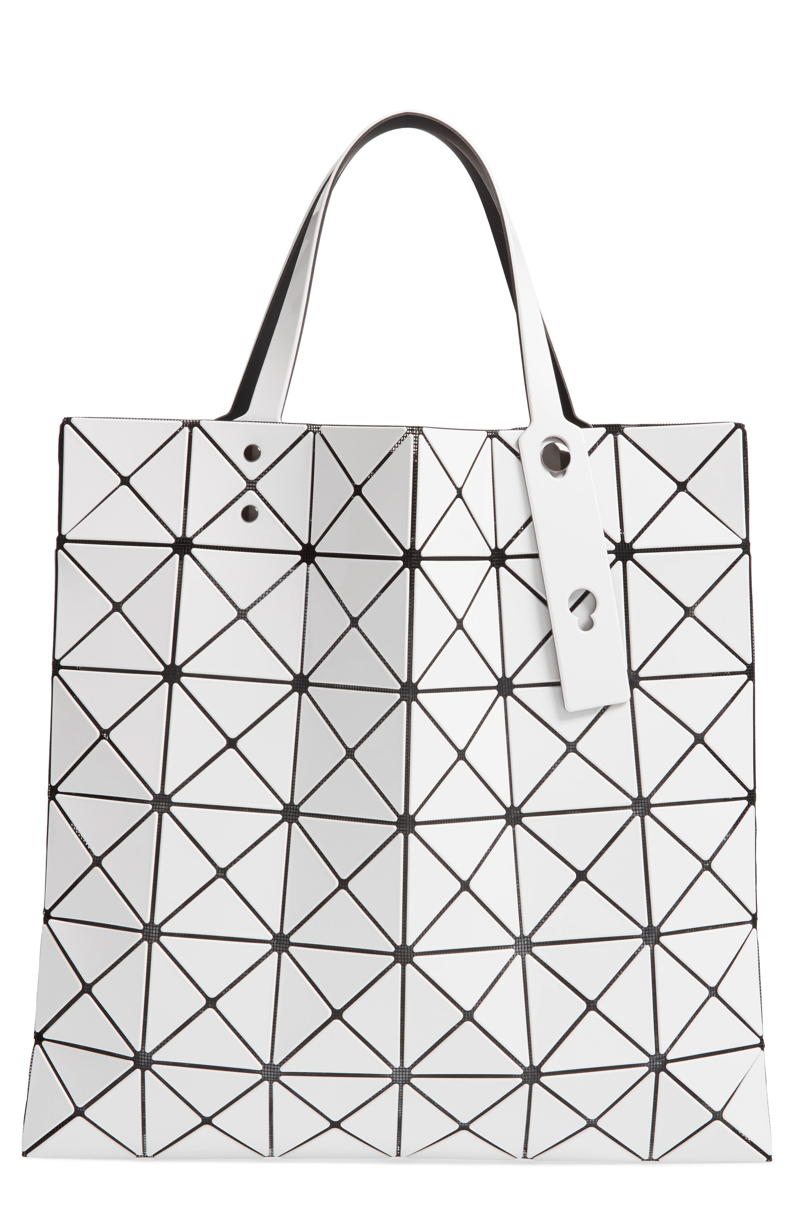 b89ab3de83 Bao Bao Issey Miyake Lucent Lightweight Collapsible Tote Bag In White