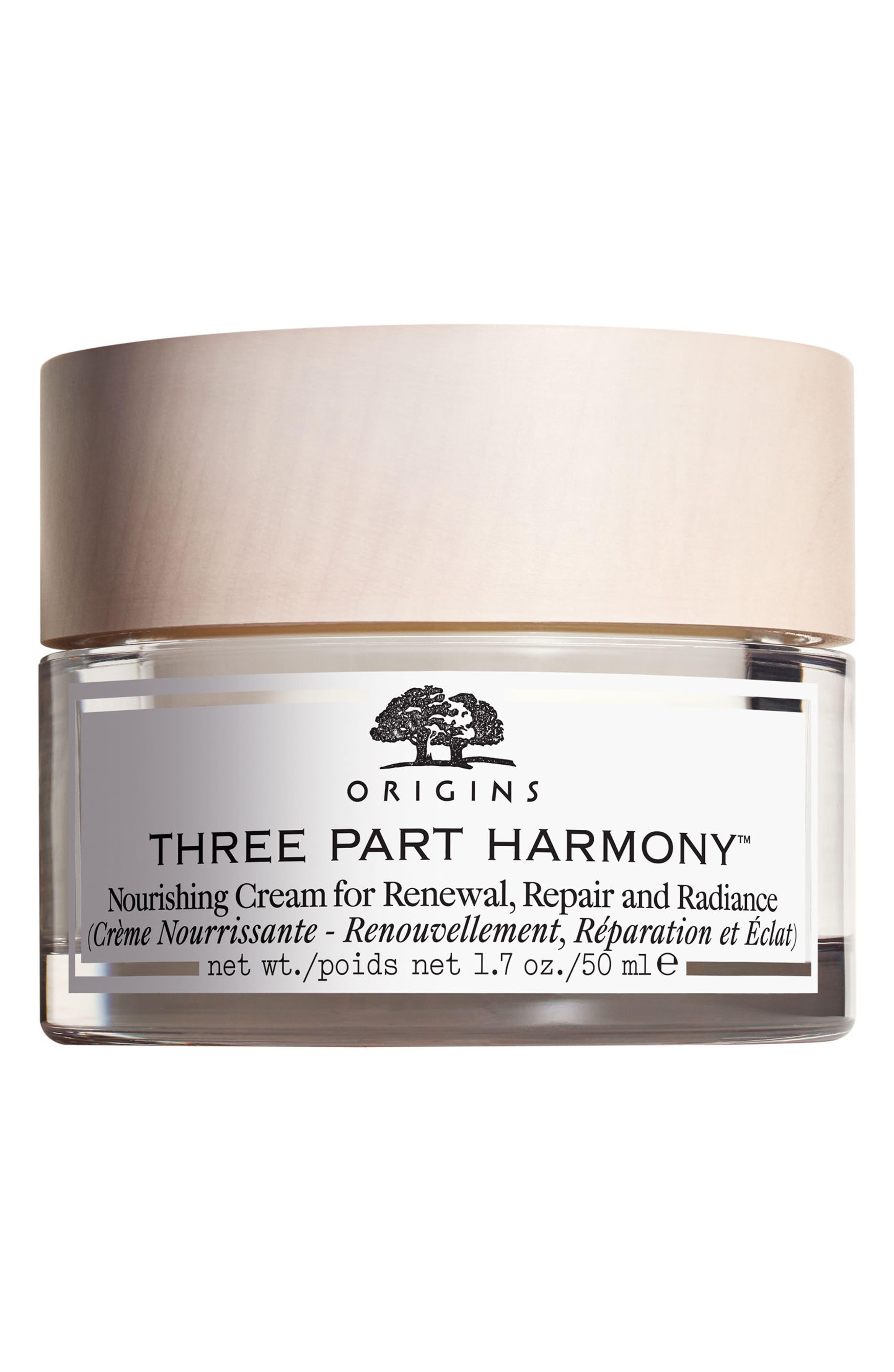 Three-Part Harmony<sup>™</sup> Nourishing Cream for Renewal, Repair & Radiance,                             Main thumbnail 1, color,                             000