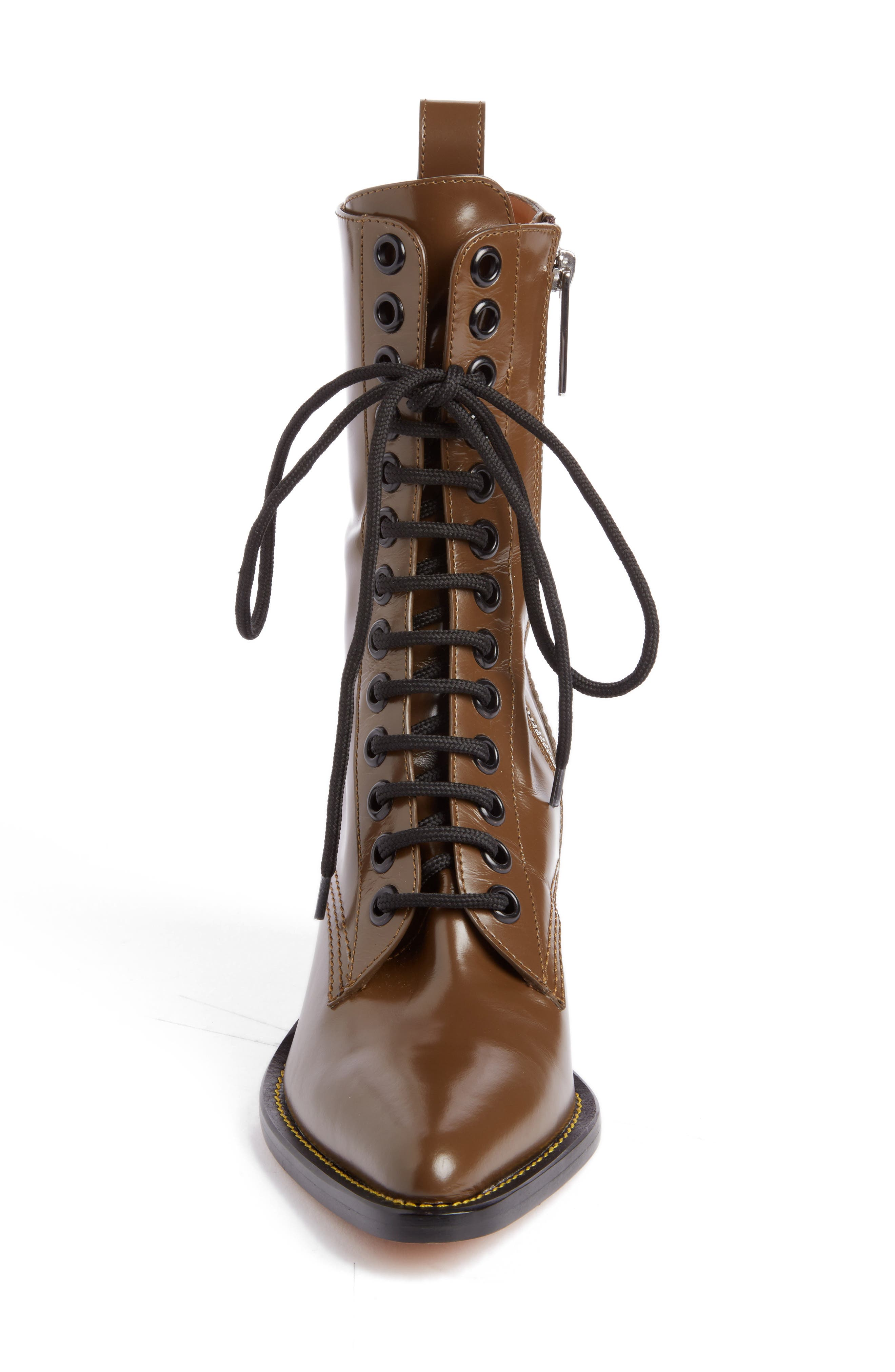 Rylee Lace-Up Boot,                             Alternate thumbnail 3, color,                             201