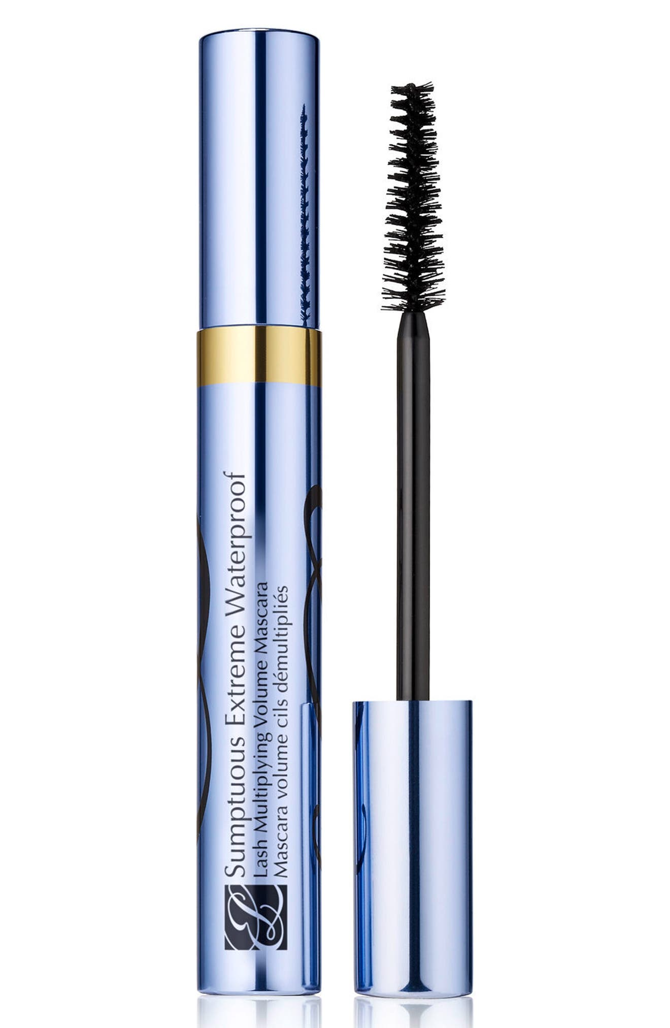 Sumptuous Extreme Waterproof Lash Multiplying Volume Mascara,                             Main thumbnail 1, color,                             EXTREME BLACK