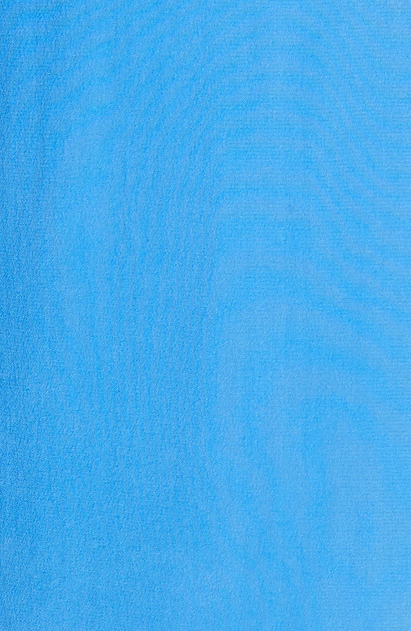 Damica Ruffle One-Shoulder Silk Dress,                             Alternate thumbnail 5, color,                             420