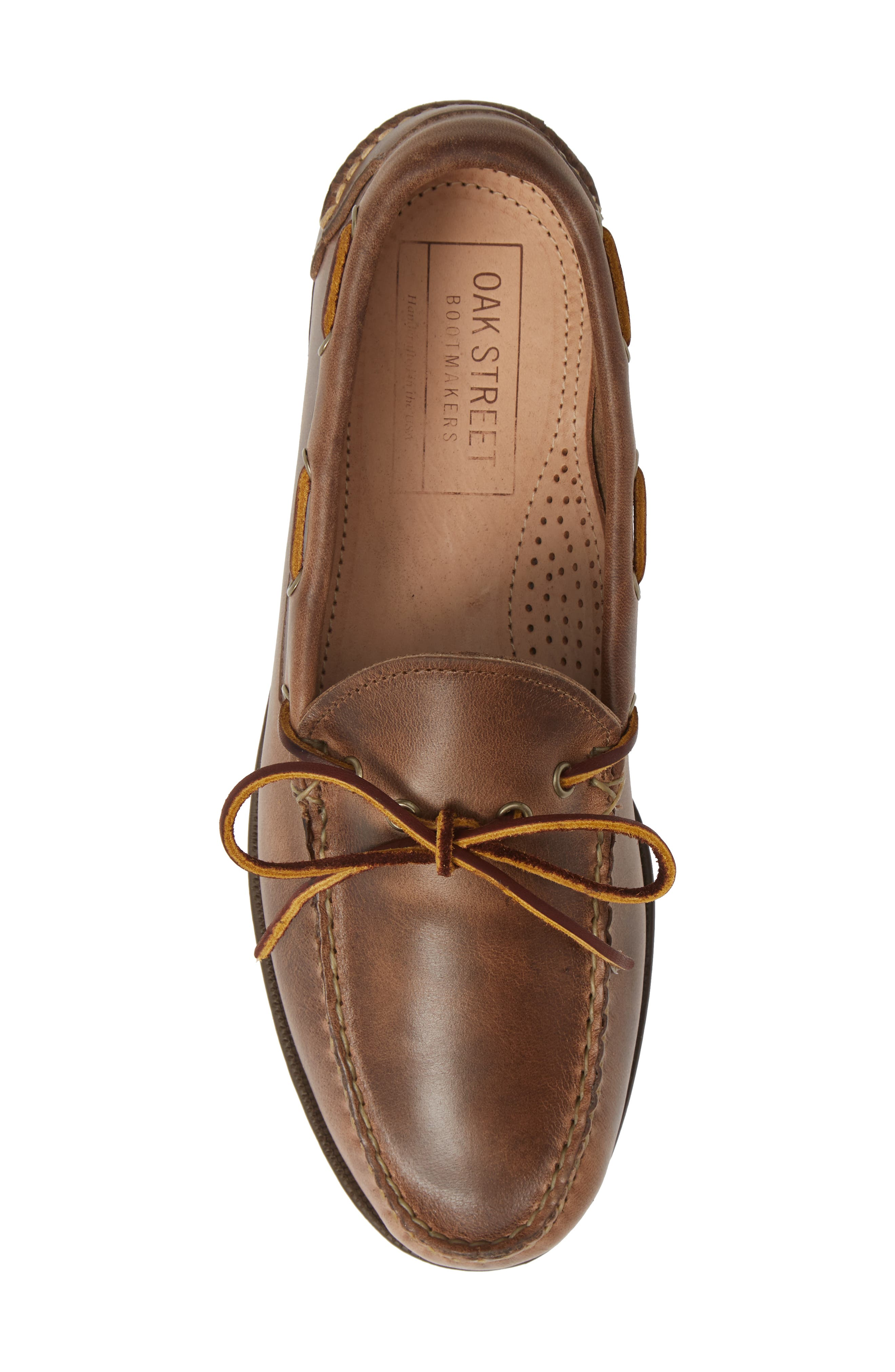 Camp Moccasin,                             Alternate thumbnail 5, color,                             NATURAL LEATHER