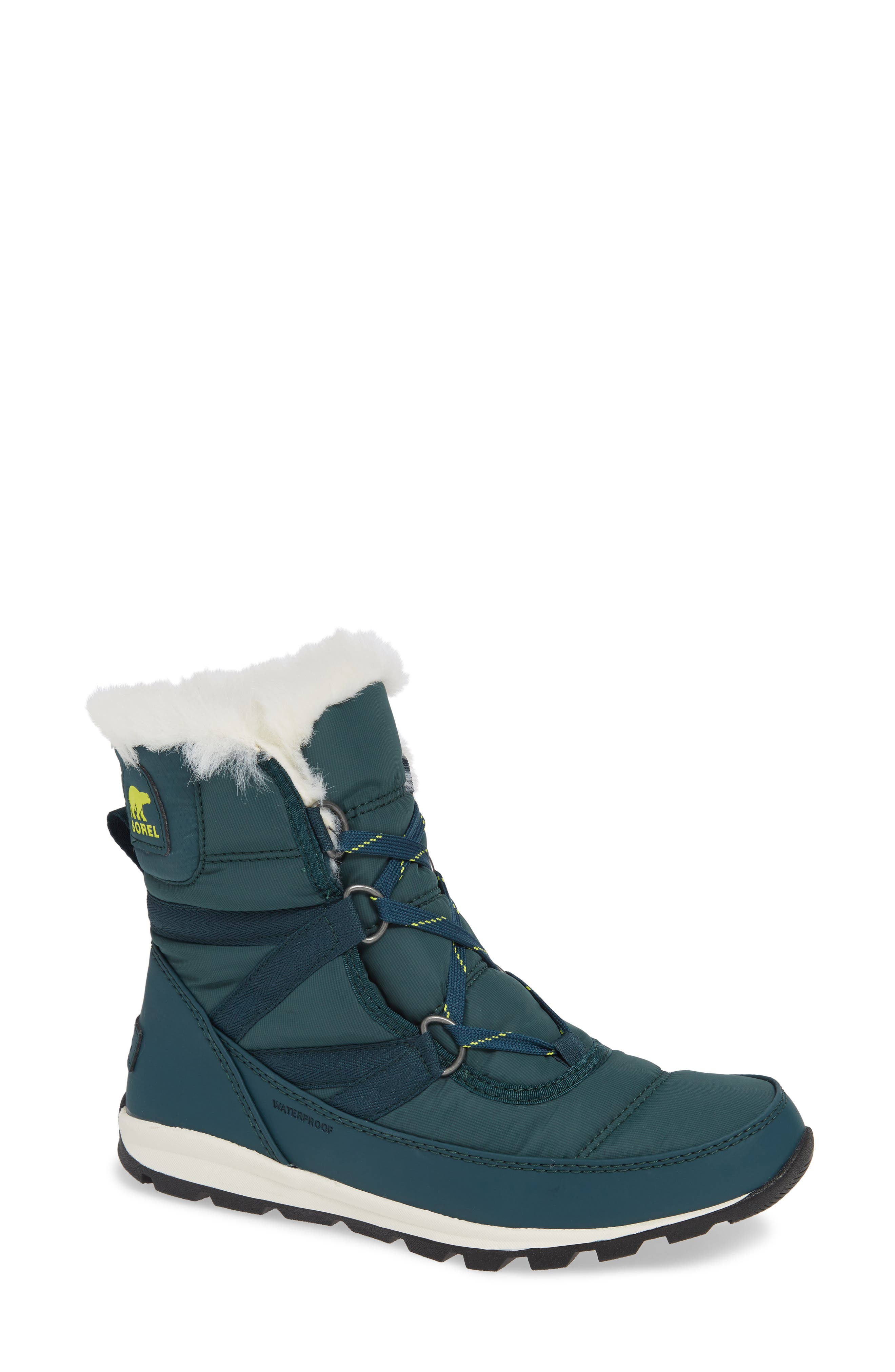 Sorel Whitney Snow Bootie, Blue/green